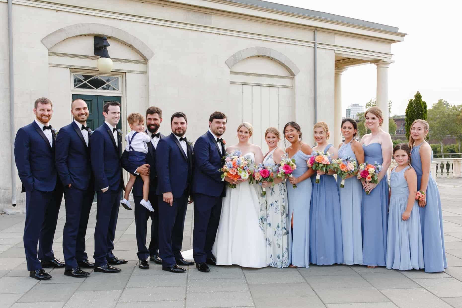 Wedding Pictures Waterworks Philadelphia