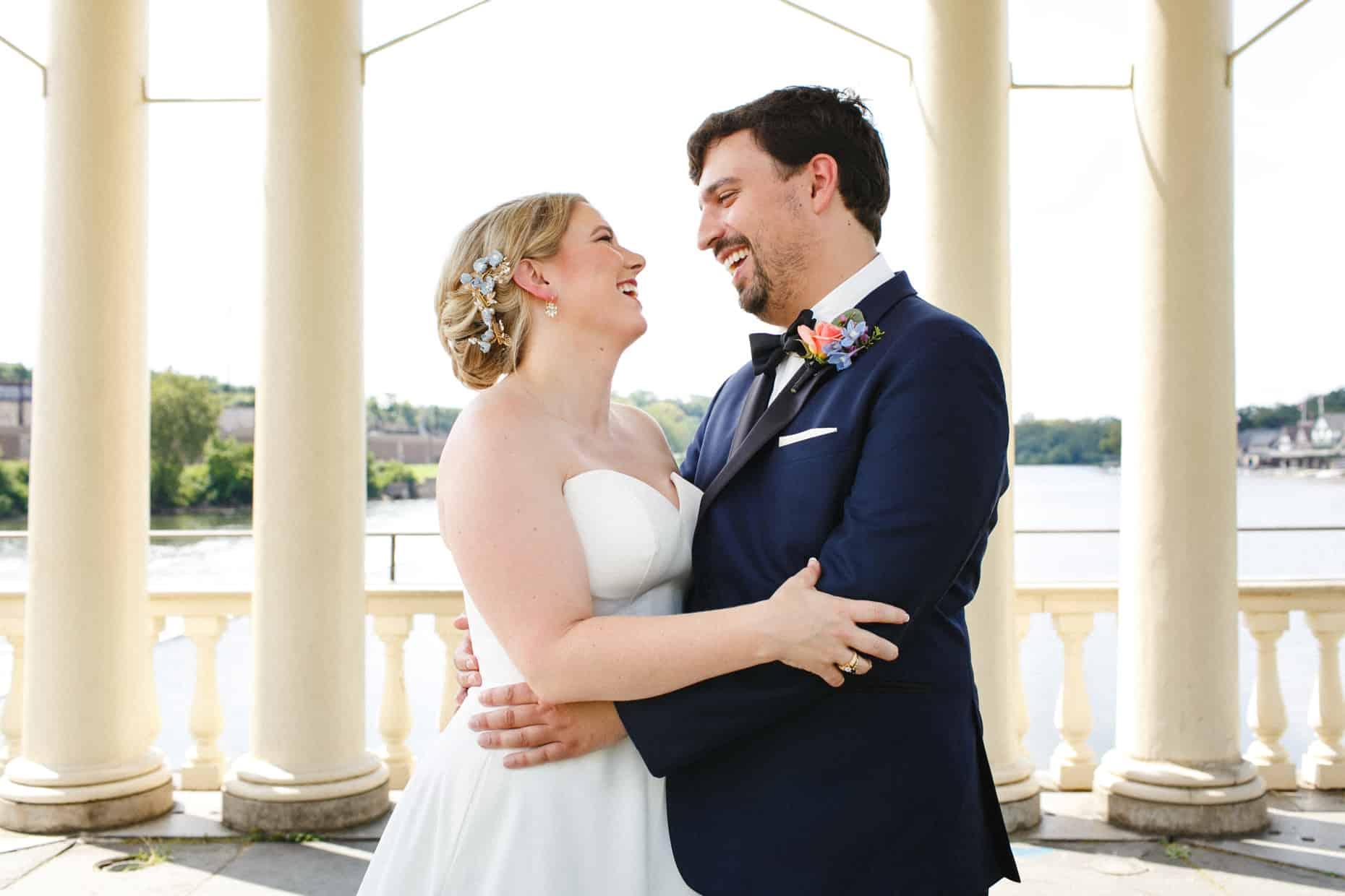 Philly Waterworks Wedding