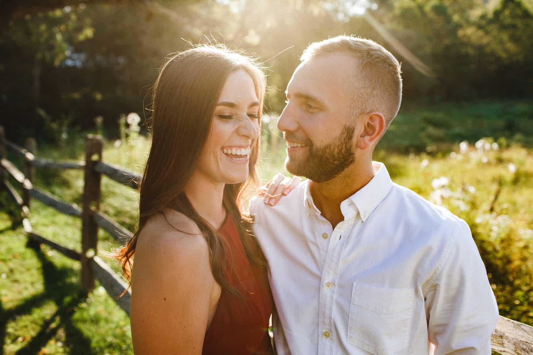 Philadelphia Engagement Photo