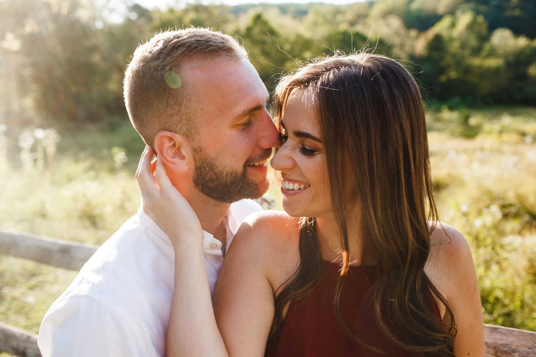 Valley Forge Engagement Photography