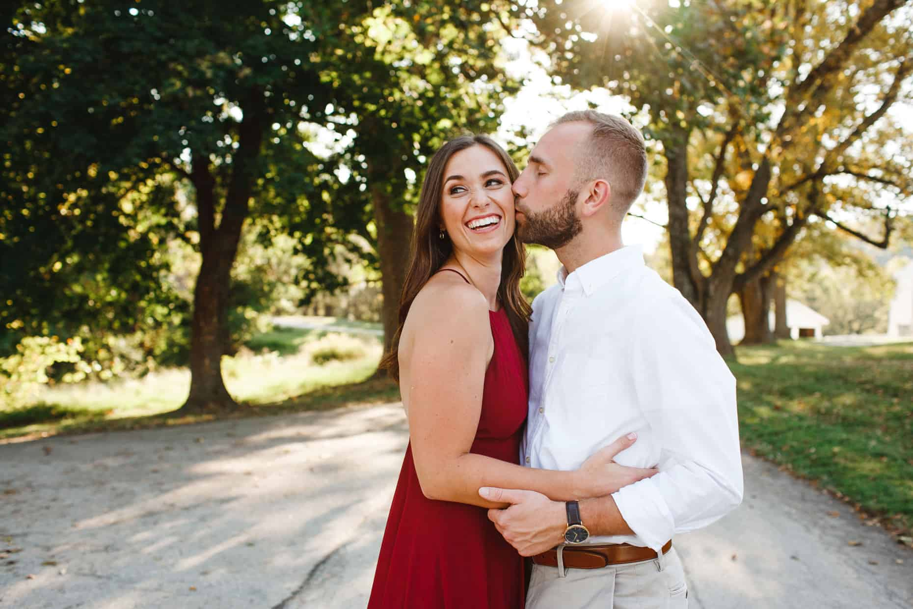 Valley Forge Engagement Photo