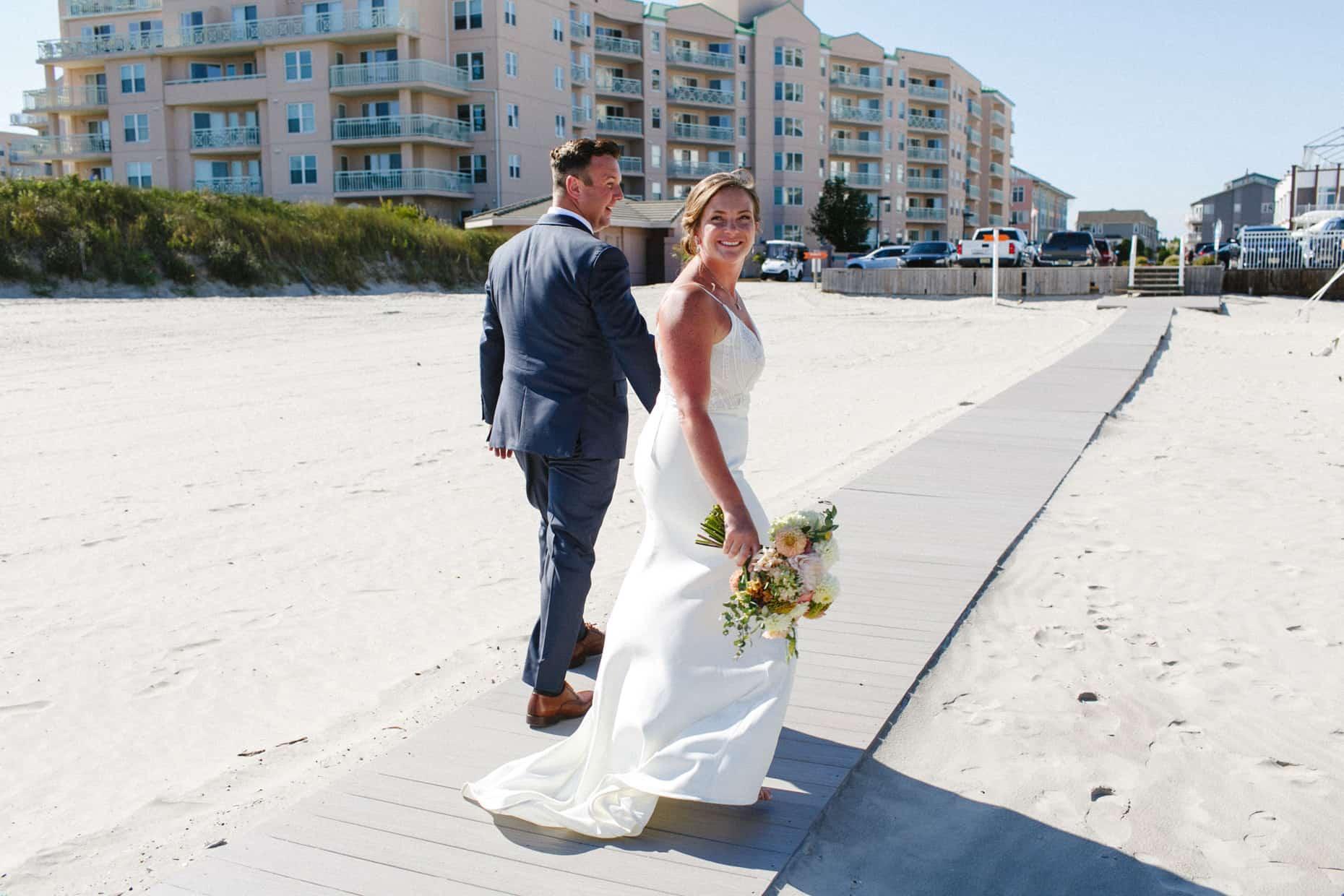 Jersey Shore Beach Wedding Photographers