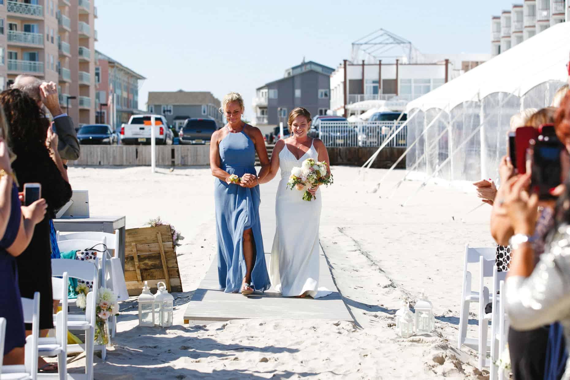 Wildwood Beach Wedding