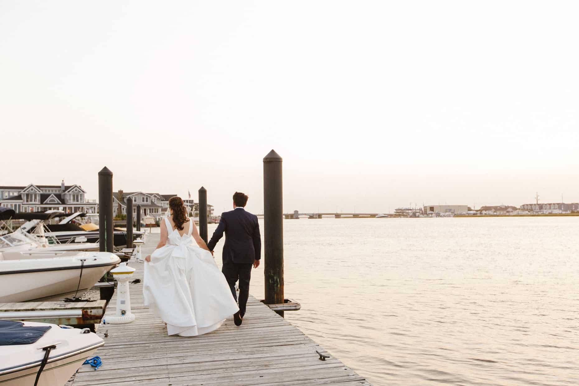 Wedding Photographer Yacht Club of Stone Harbor