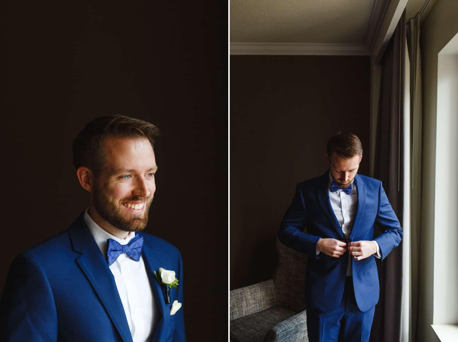 wedding day Franklin Institute