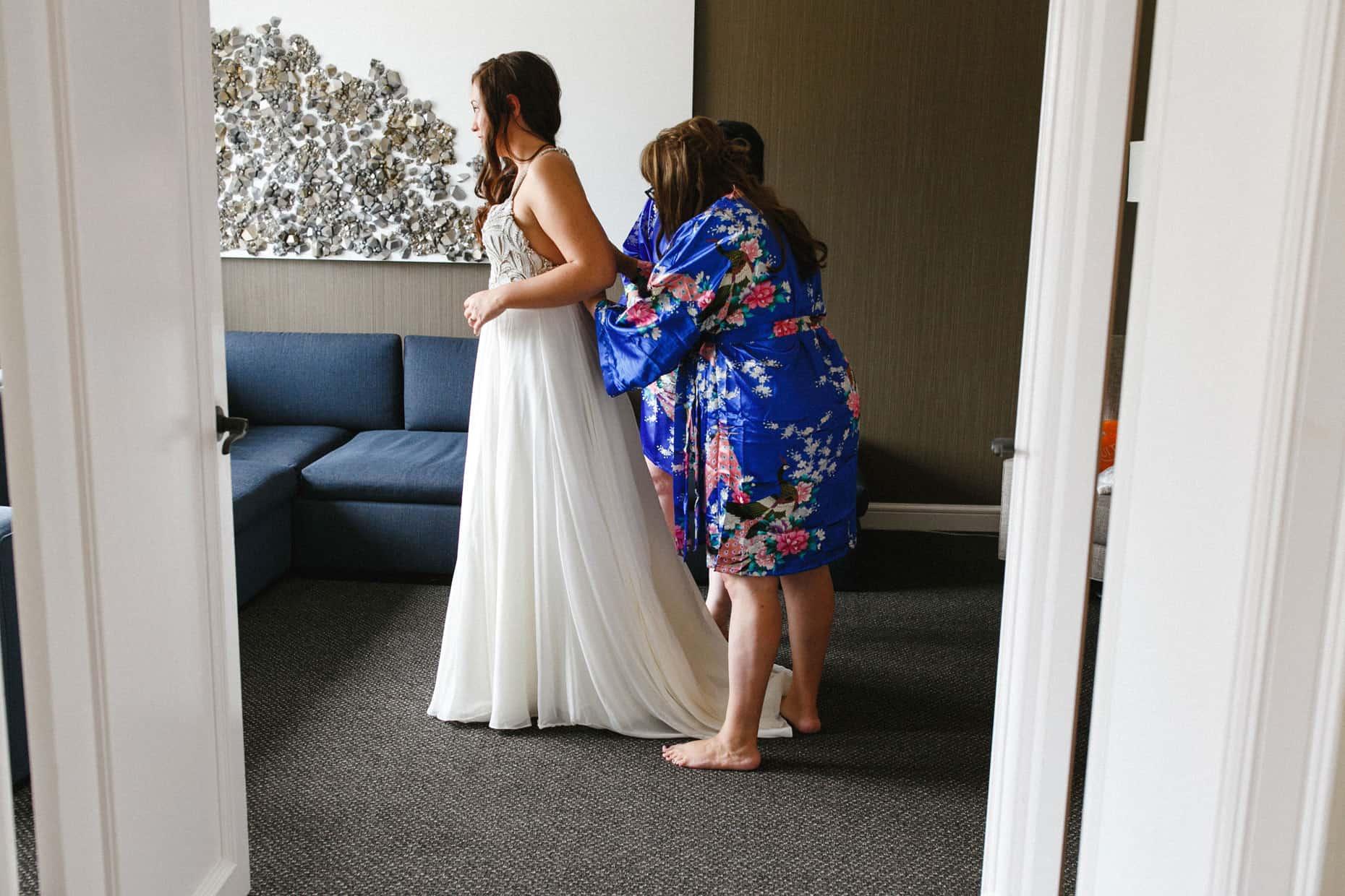 Franklin Institute wedding day