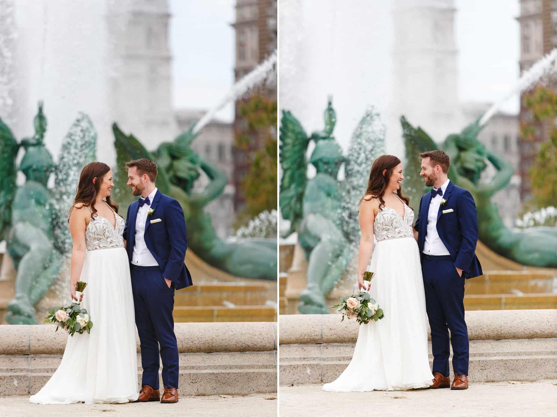 Philadelphia wedding day