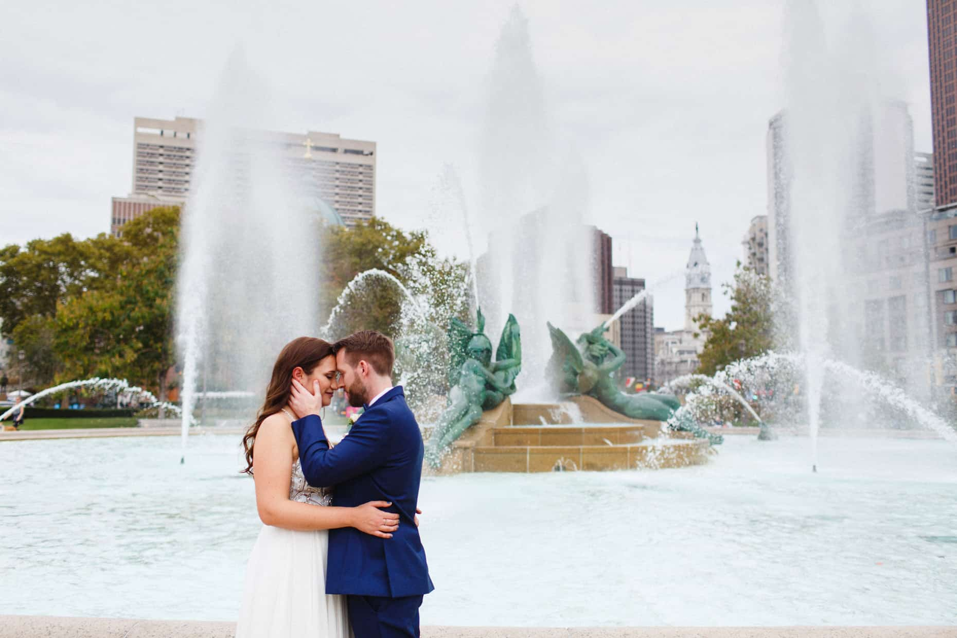 wedding day Philadelphia