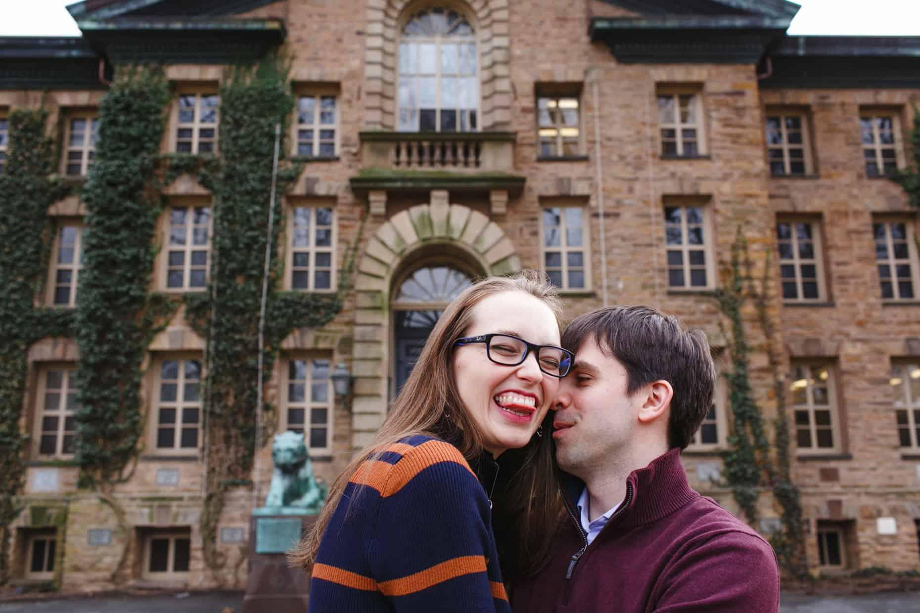 Engagement Photos Princeton University
