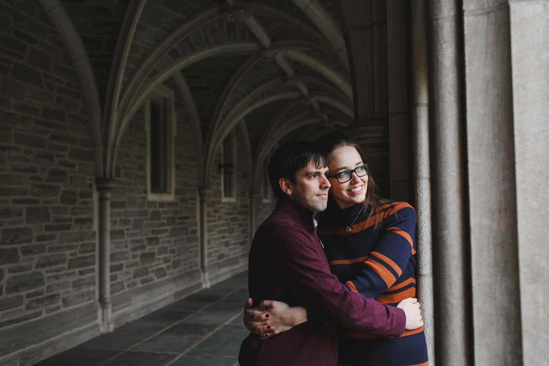 Princeton University Engagement Photographer