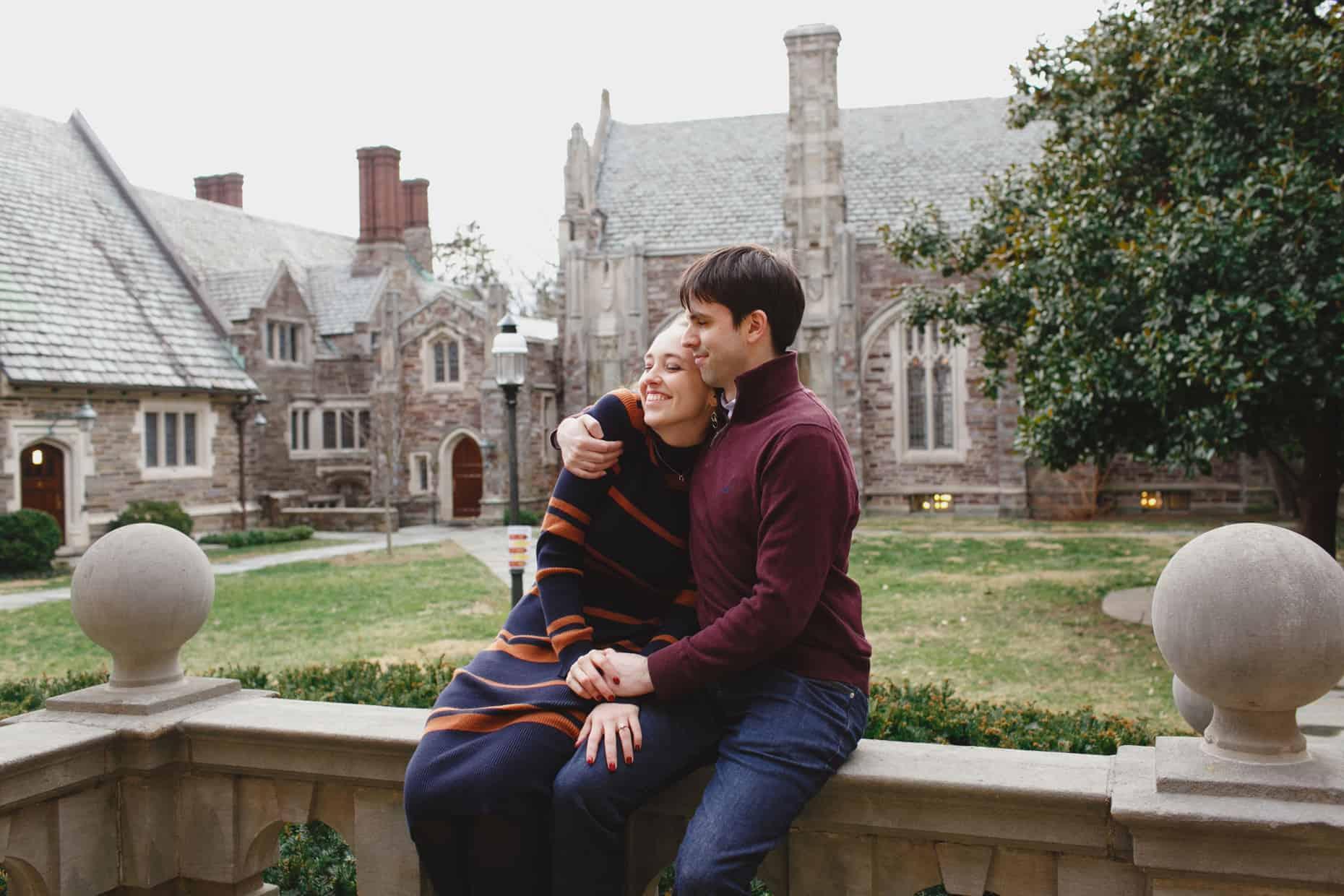 Princeton University Engagement Photographers