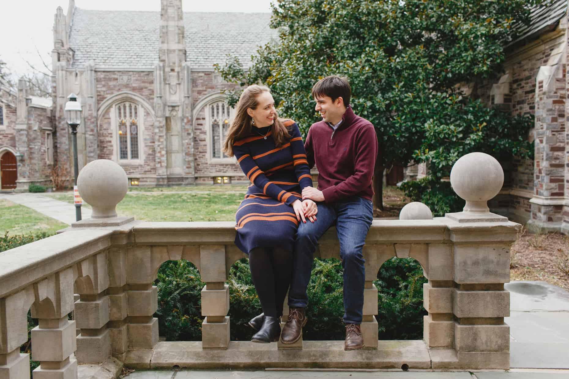 College Engagement Photos