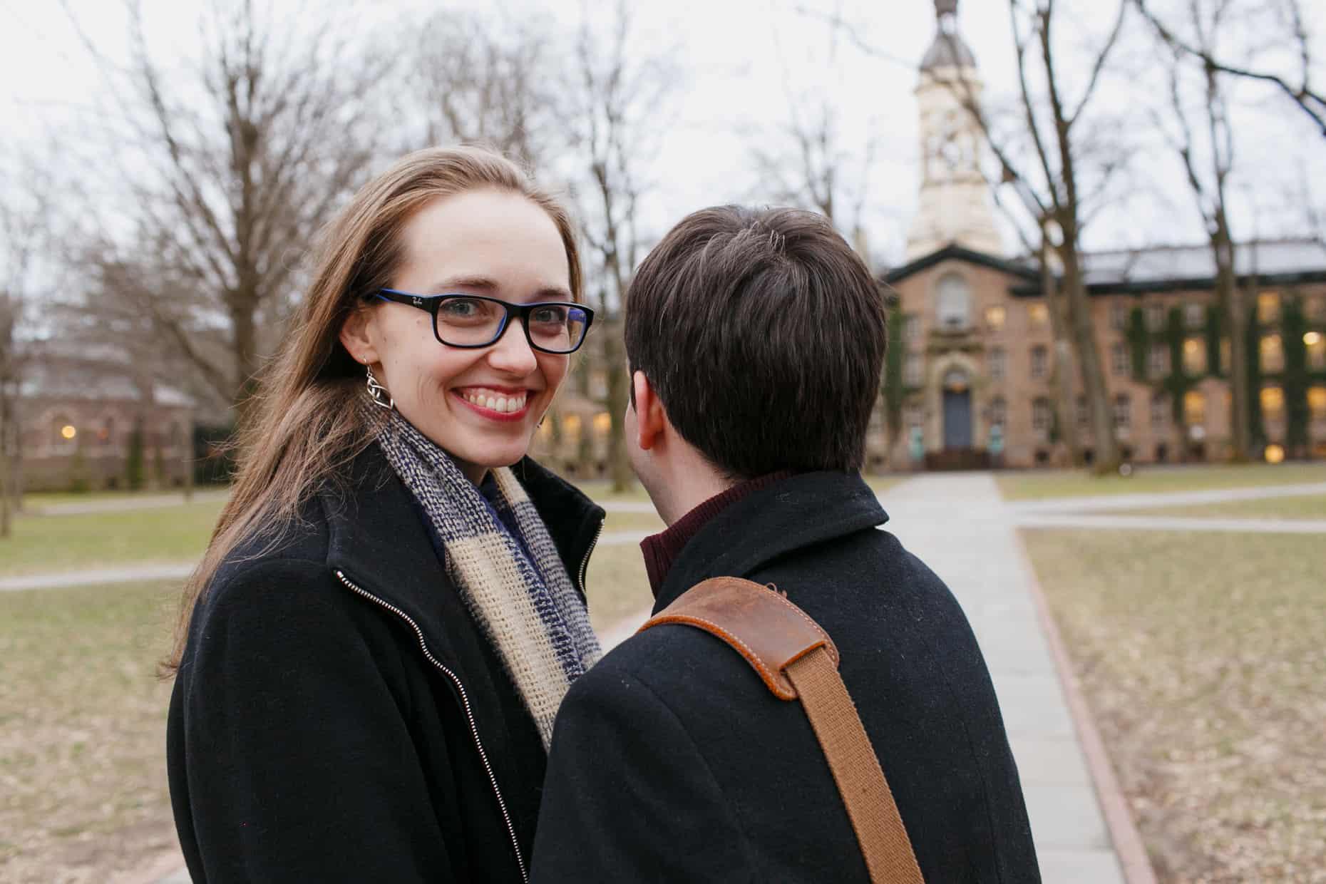 Ivy League Engagement Photo Session