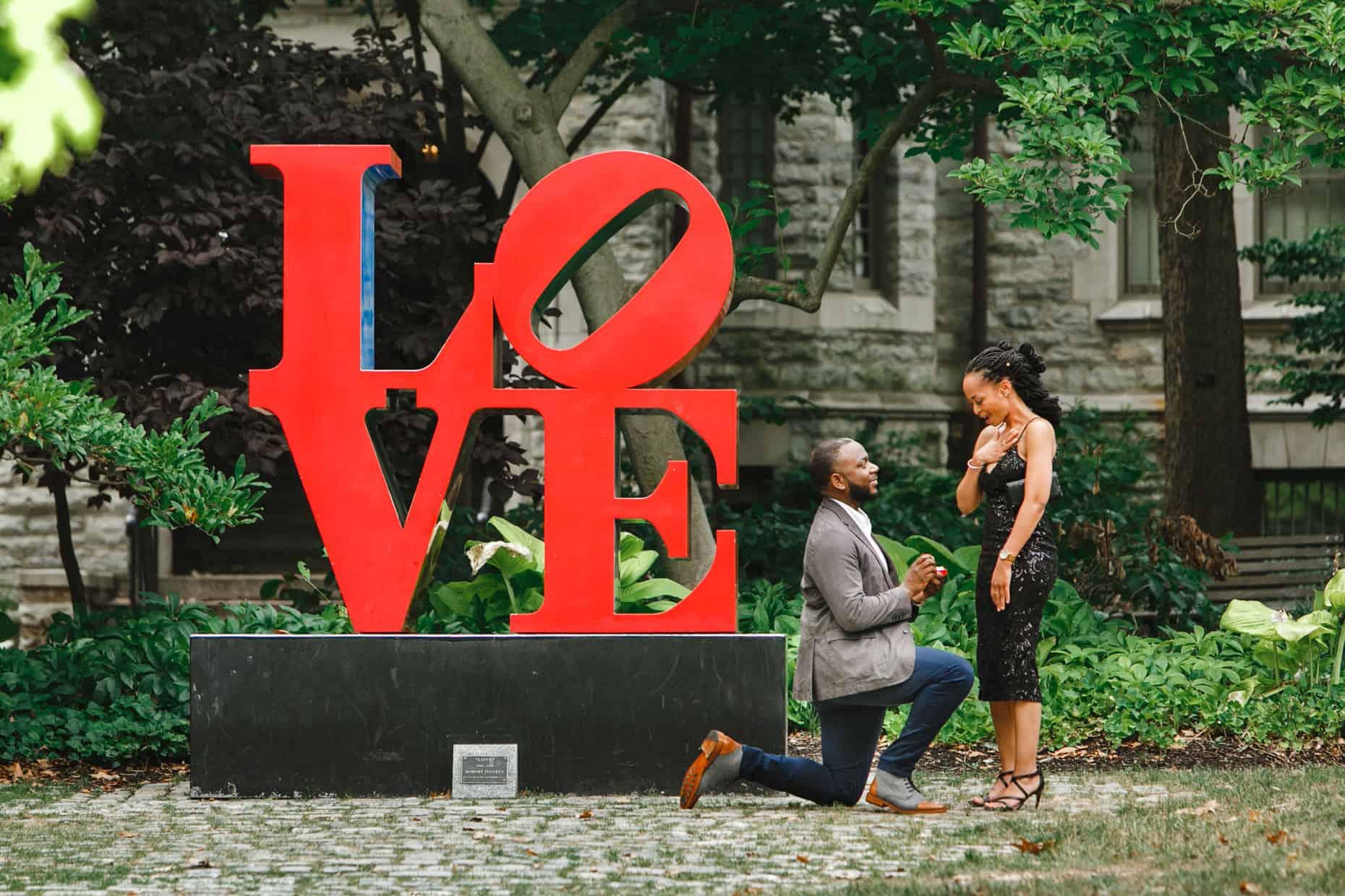 Philadelphia Surprise Proposal