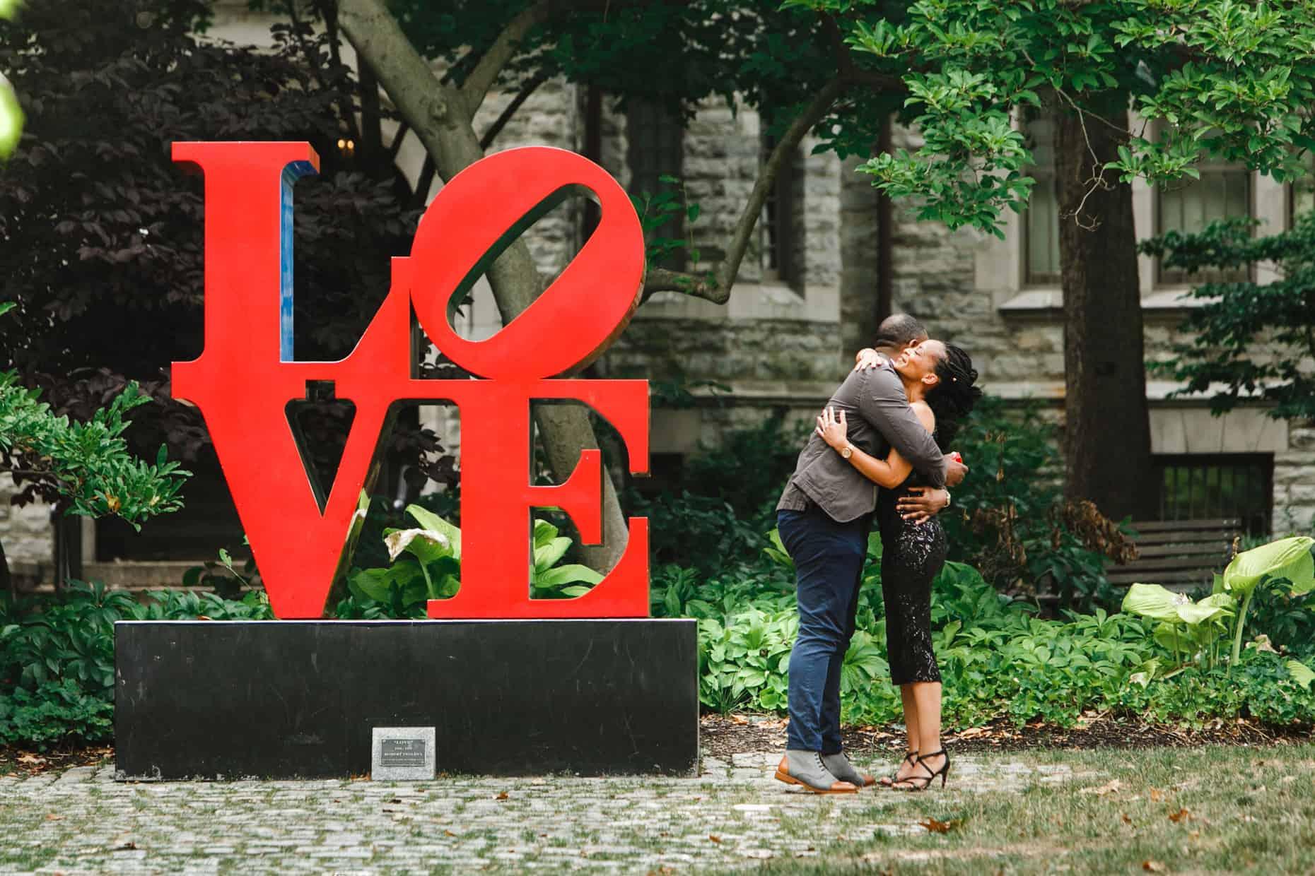 Philadelphia Surprise Proposal Photos