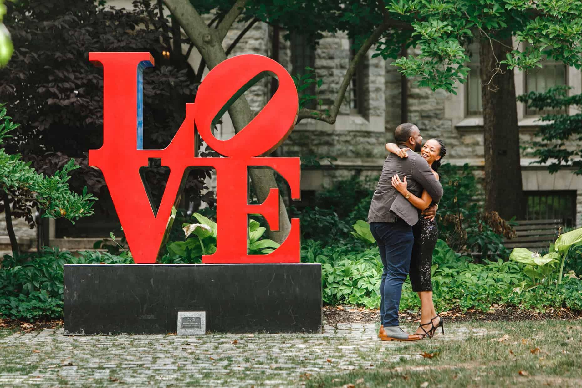 Philadelphia Surprise Proposal Photographer