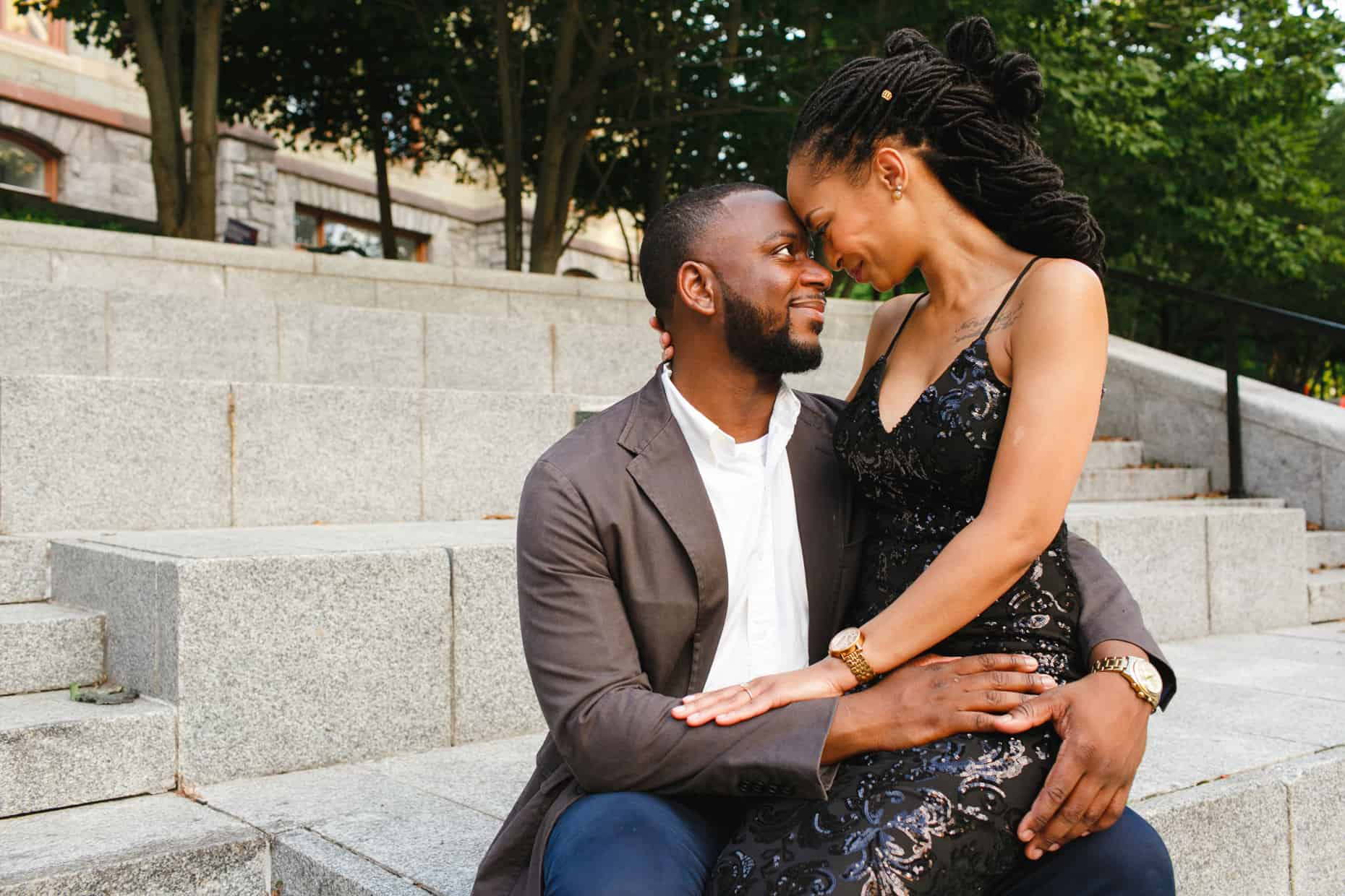 University of Pennsylvania Engagement Photographers