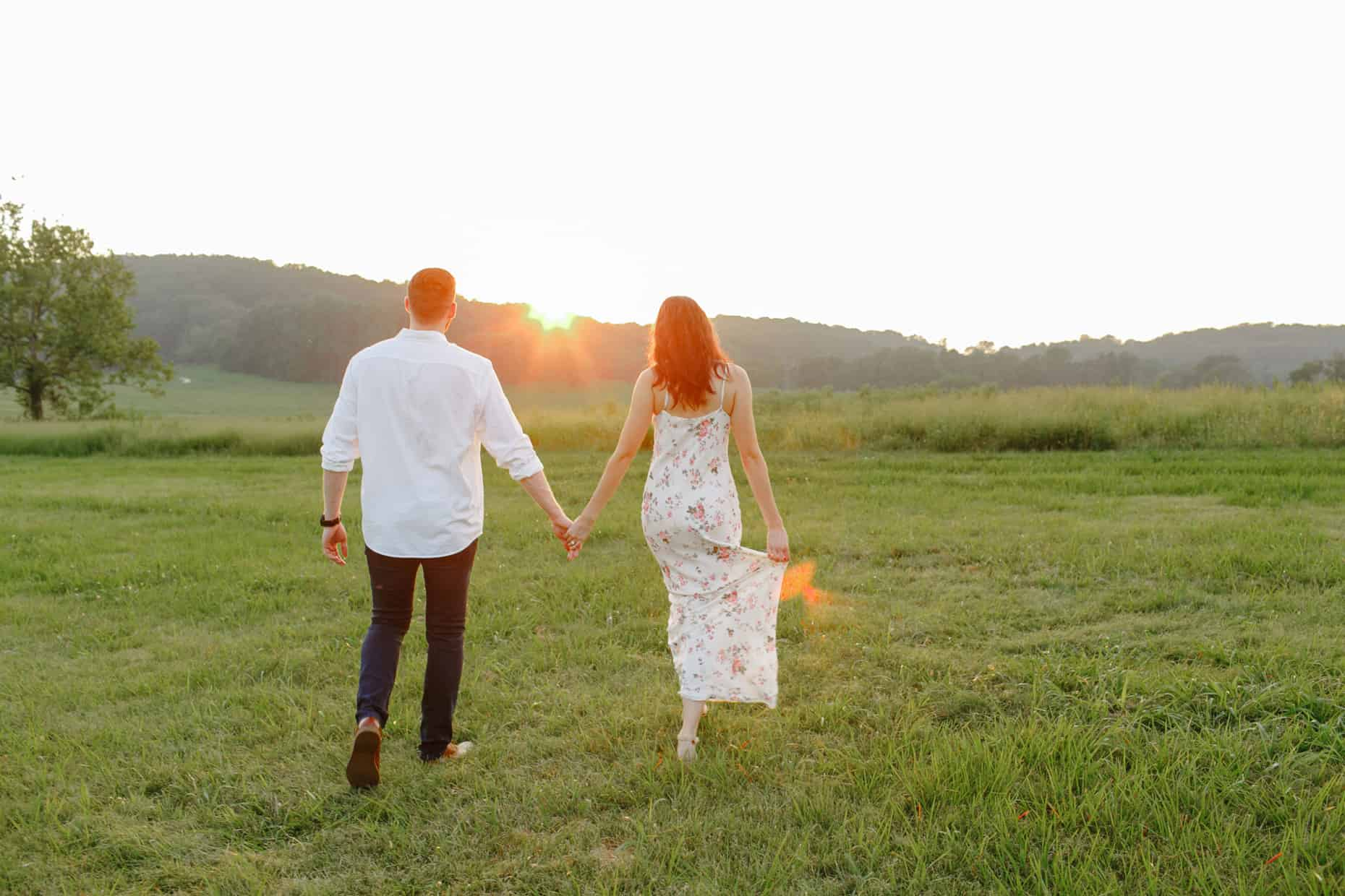 Engagement Session Valley Forge Park