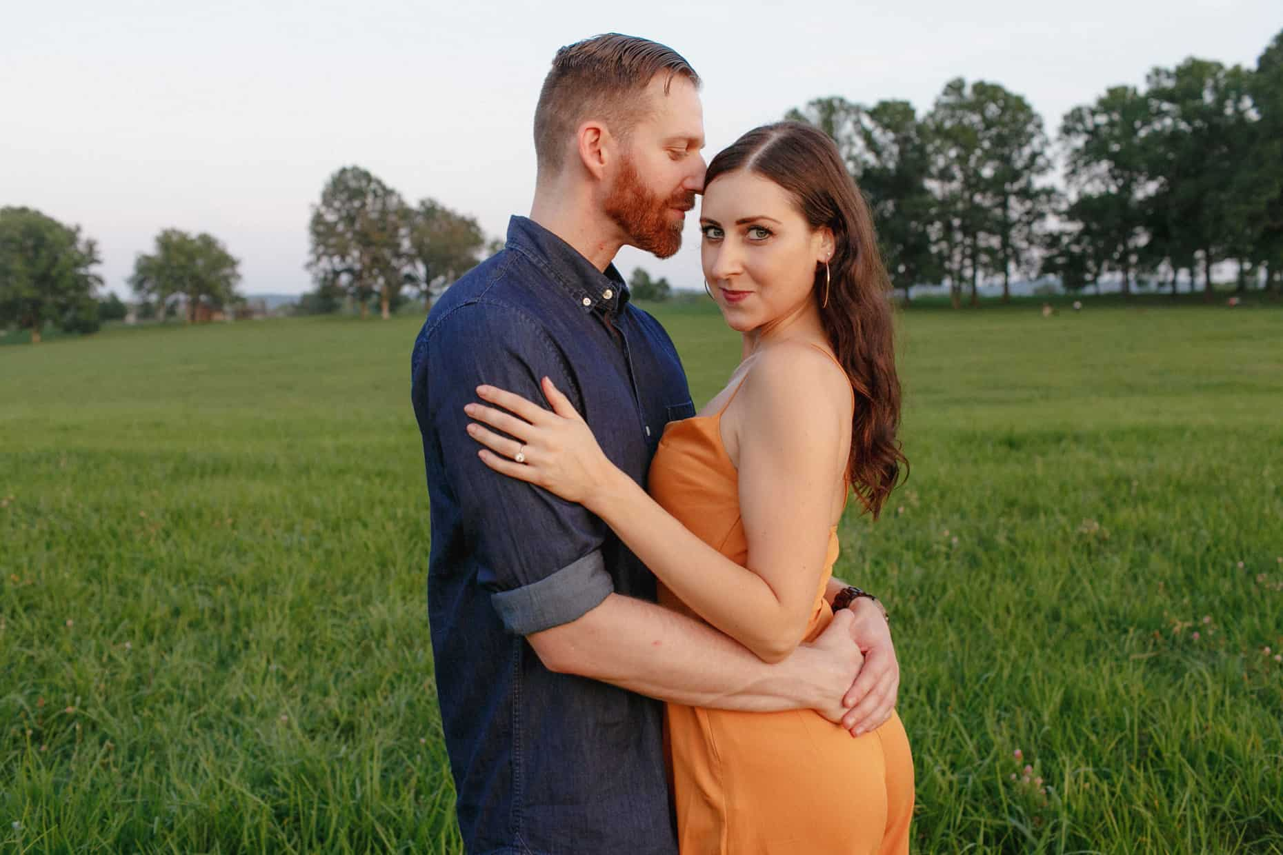 Engagement Photographers Valley Forge Park