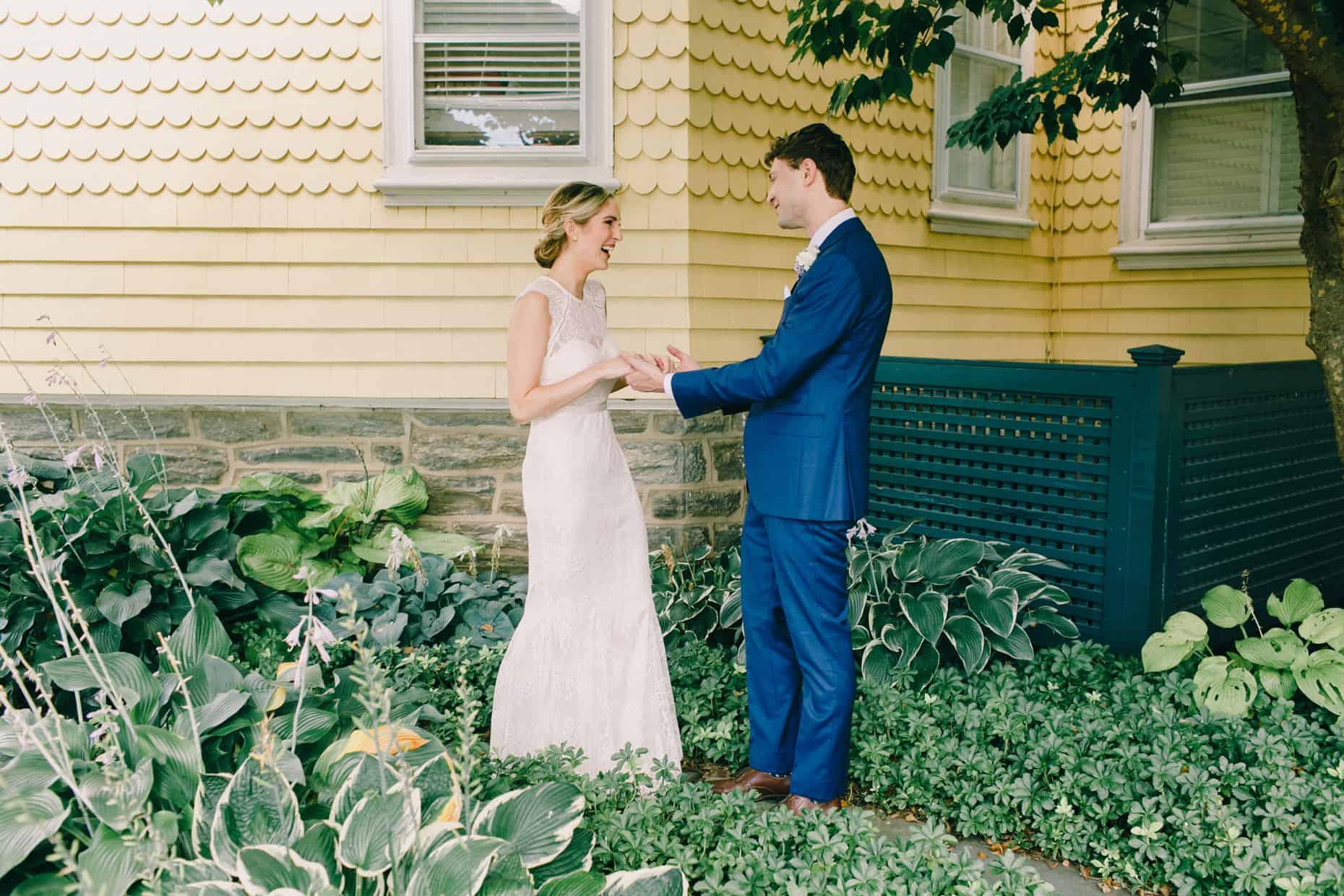 Wedding at Philadelphia Cricket Club