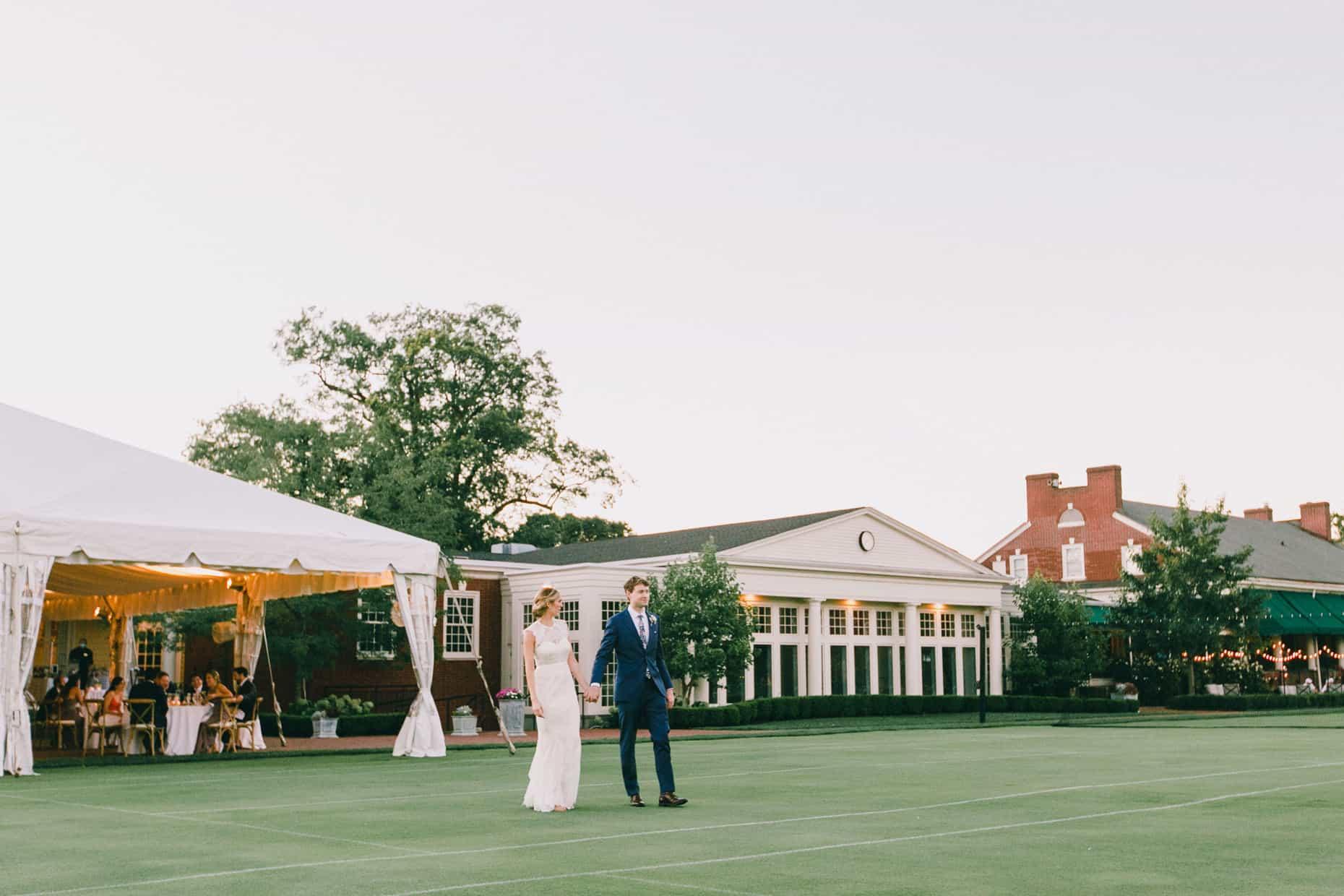 Philadelphia Cricket Club Wedding Reception