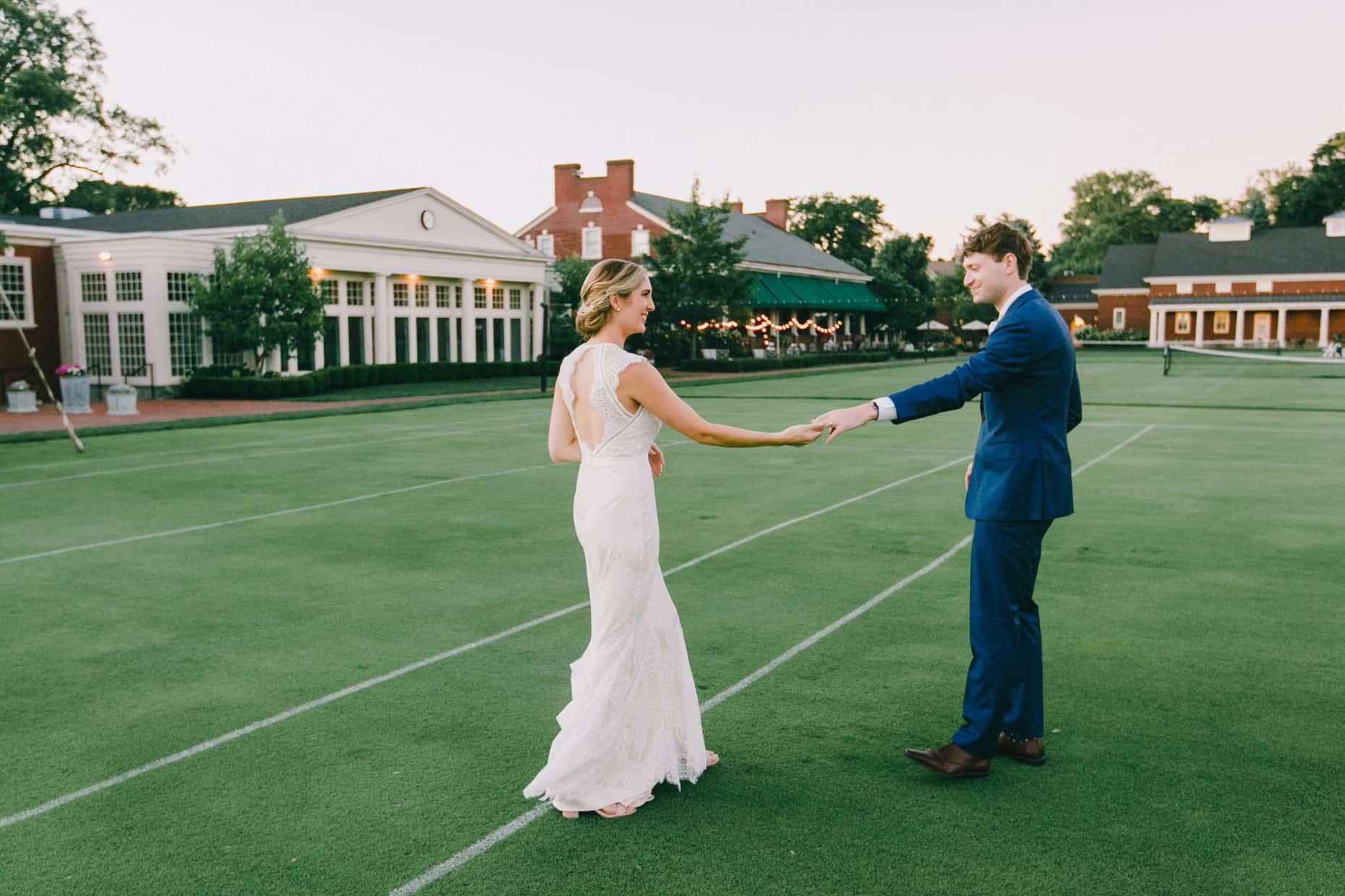 Wedding Reception Philadelphia Cricket Club