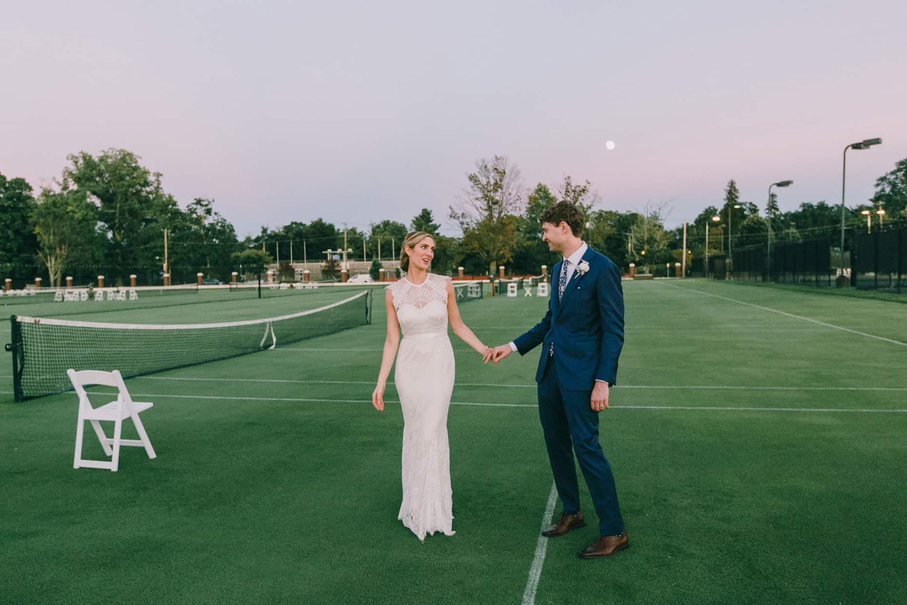Tennis Weddings