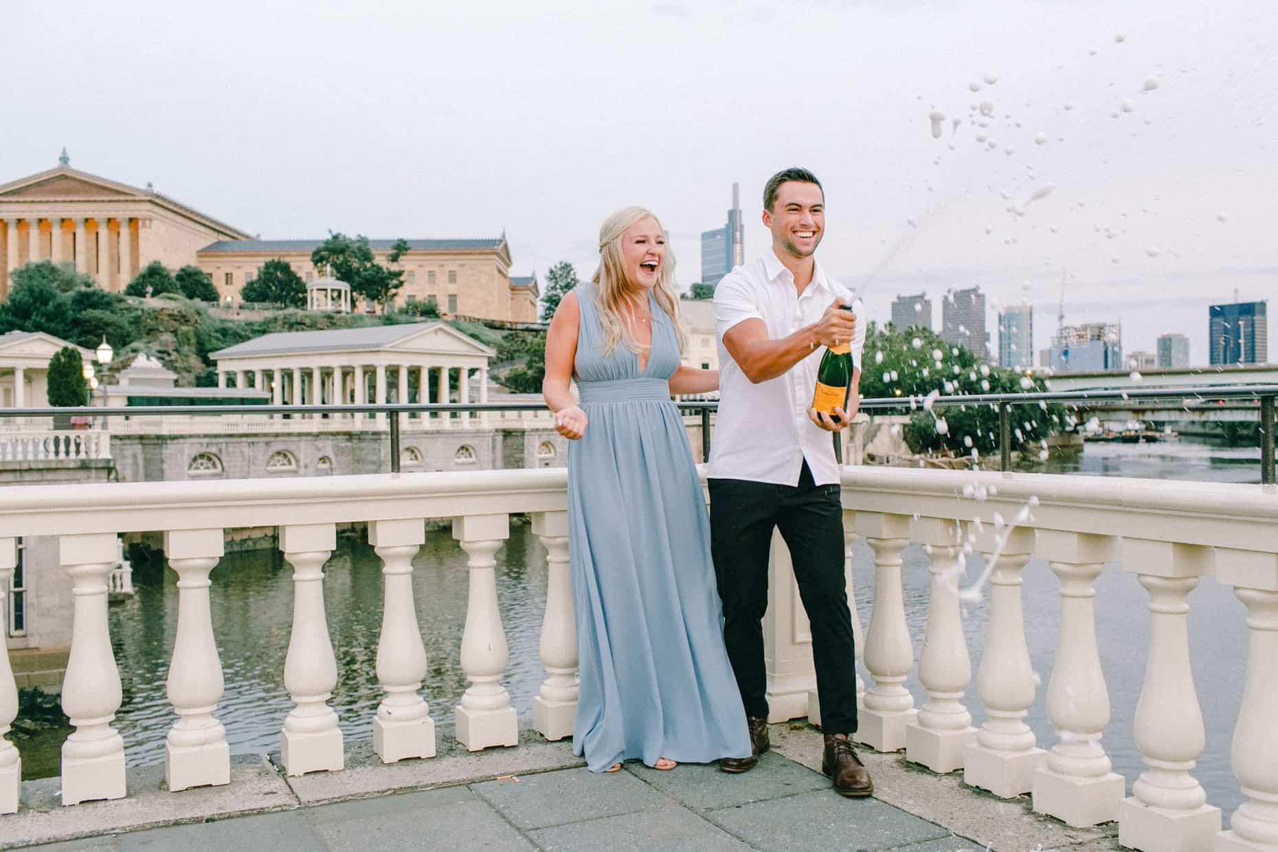 Engagement Sessions Philadelphia Waterworks