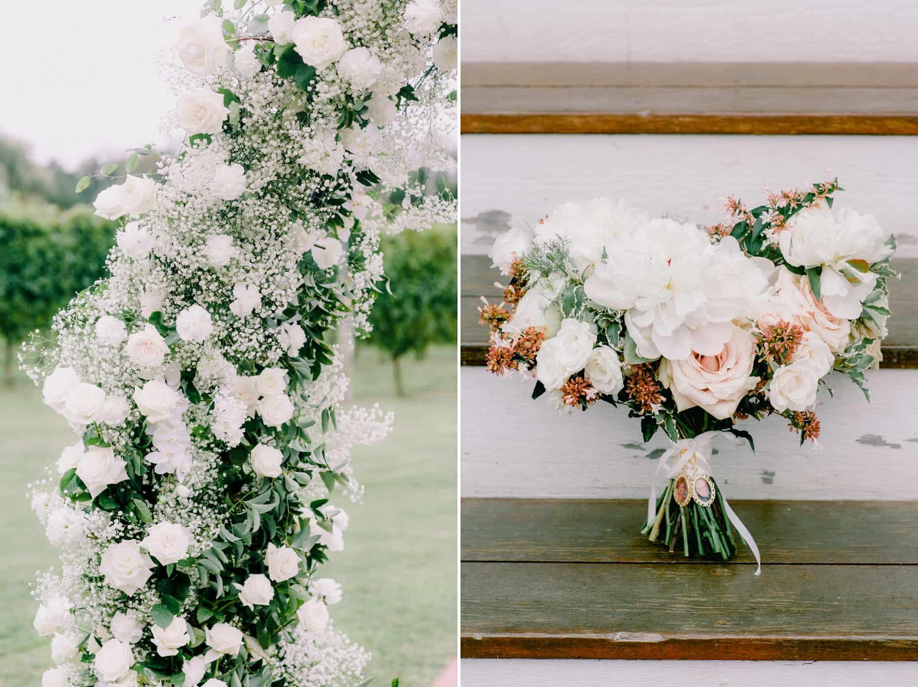 Wedding Flowers A Garden Party