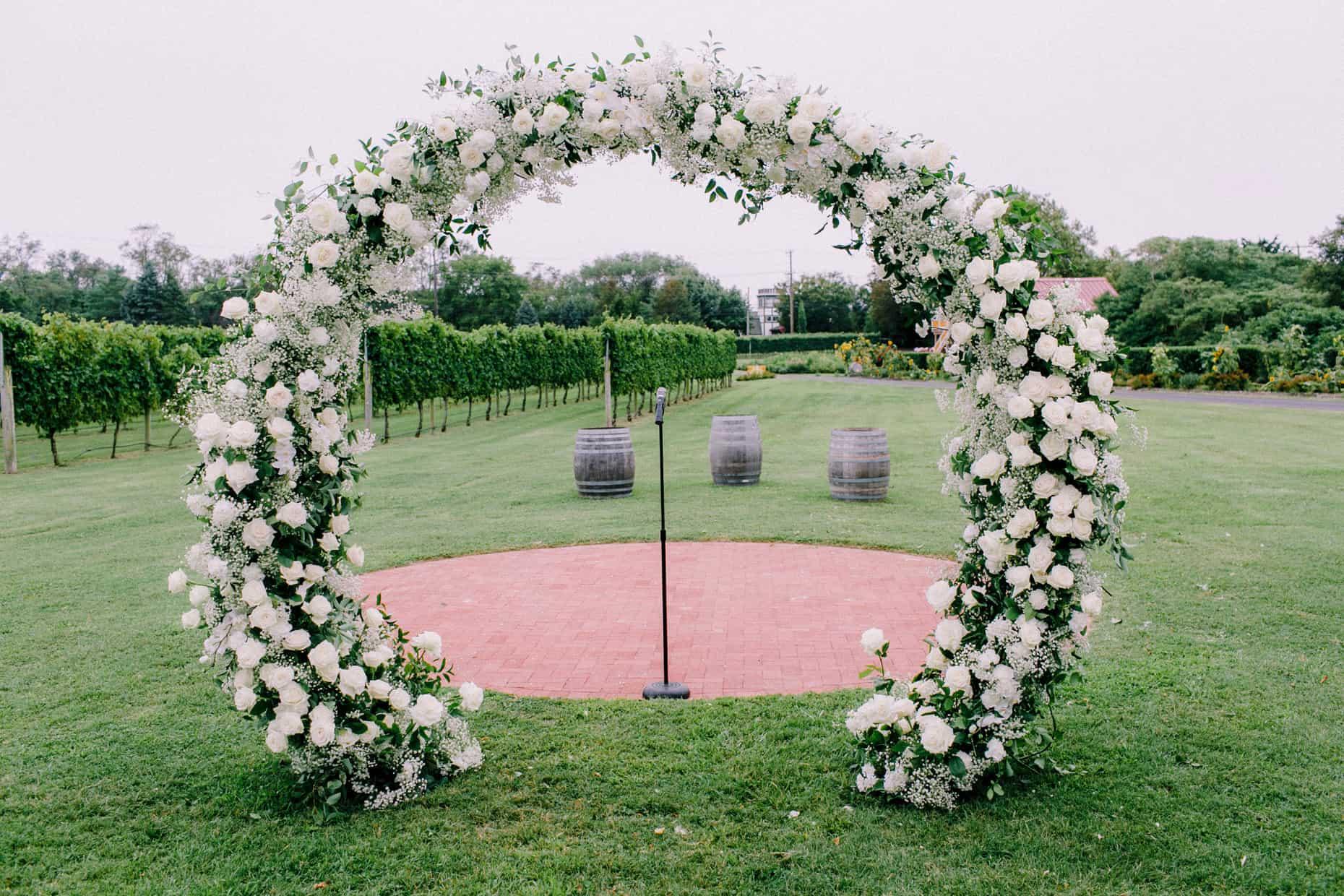 Cape May wedding Garden Party