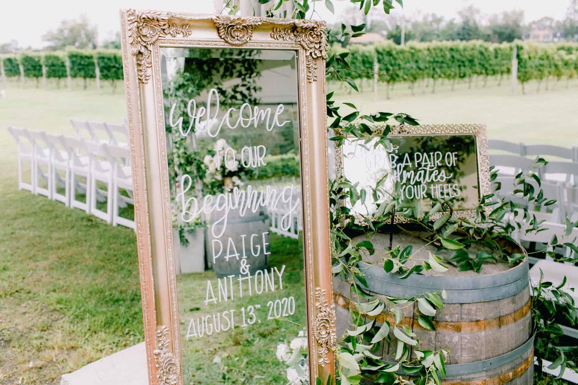 A garden party weddings