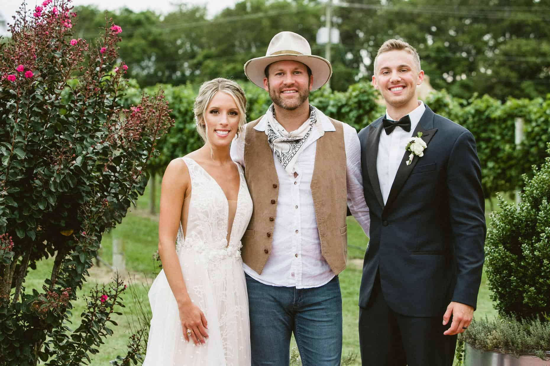 Drake White Cape May Wedding