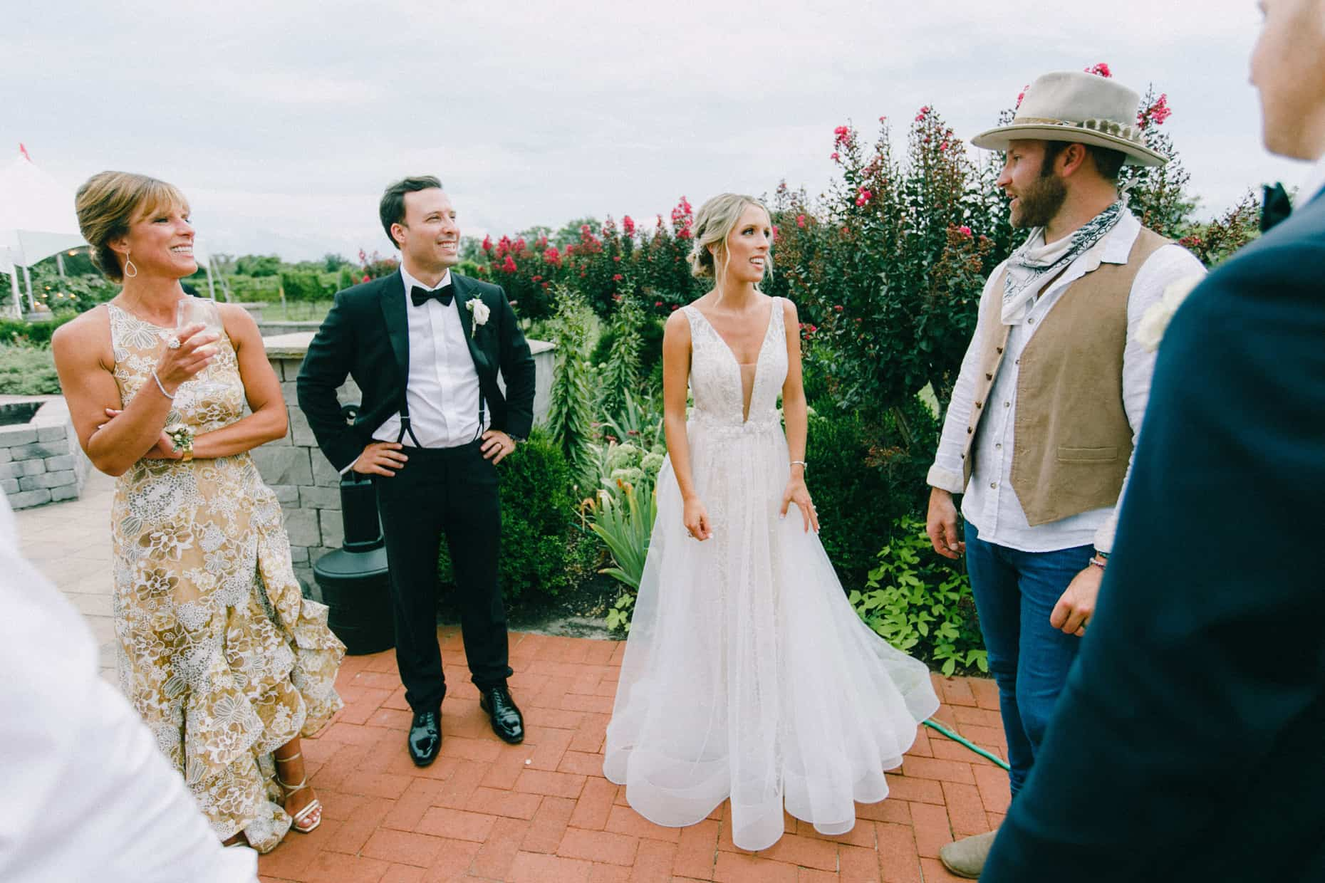 Drake White performs at a wedding in Cape May