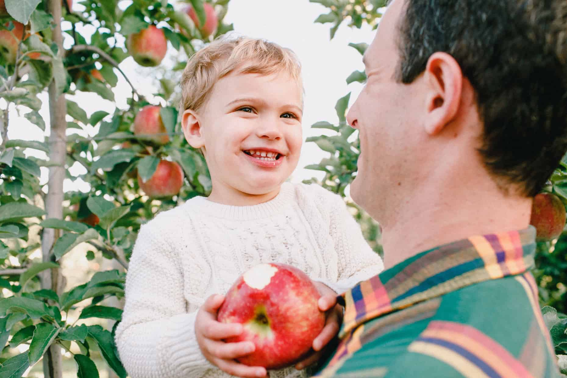 Apple Picking Family Photography