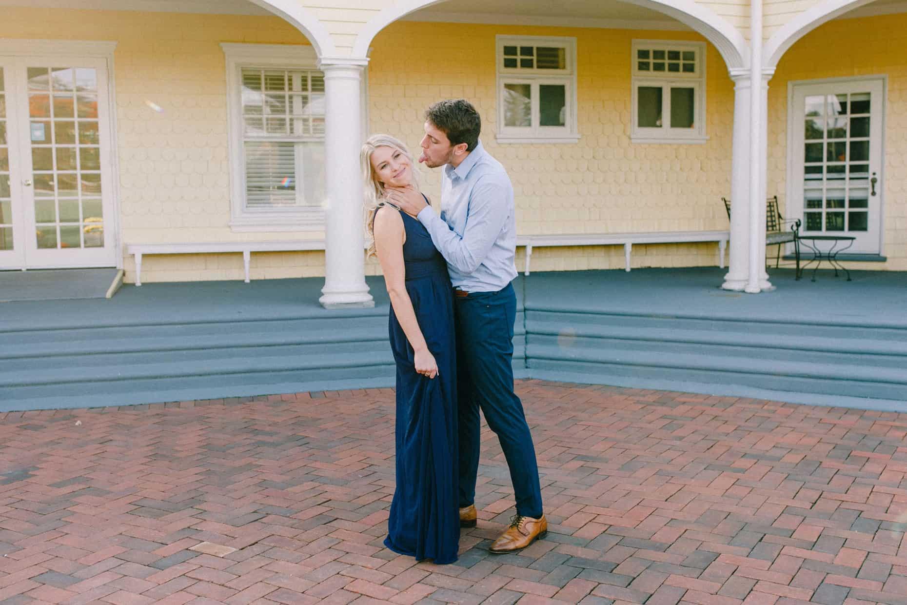 Chestnut Hill Engagement Photographers