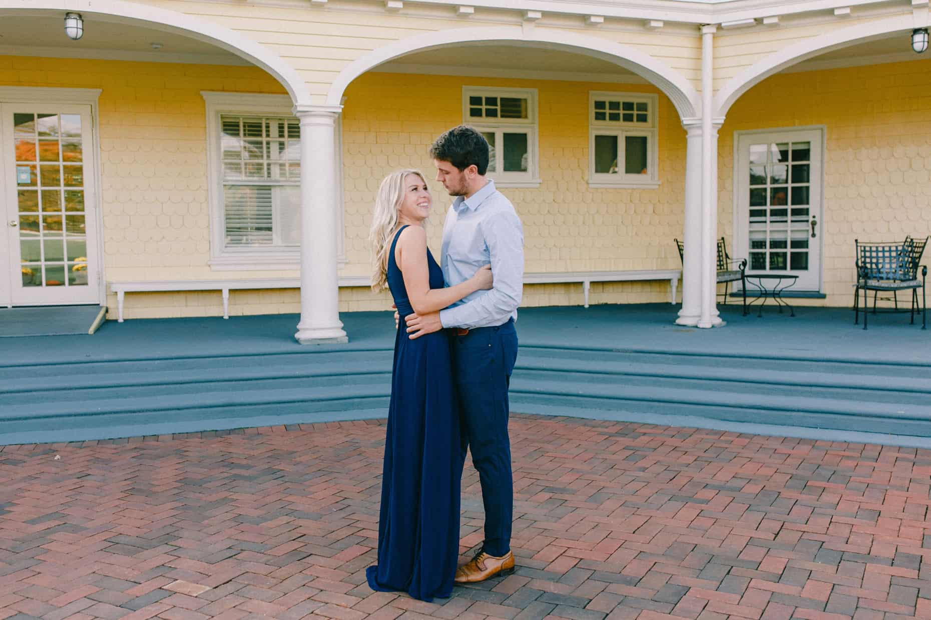 Chestnut Hill Engagement Photography