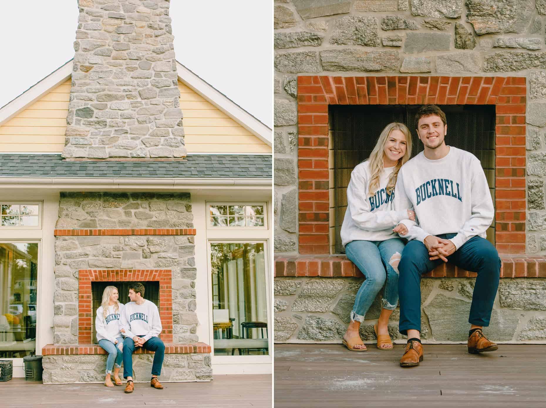 Engagement Photos at Philadelphia Cricket Club