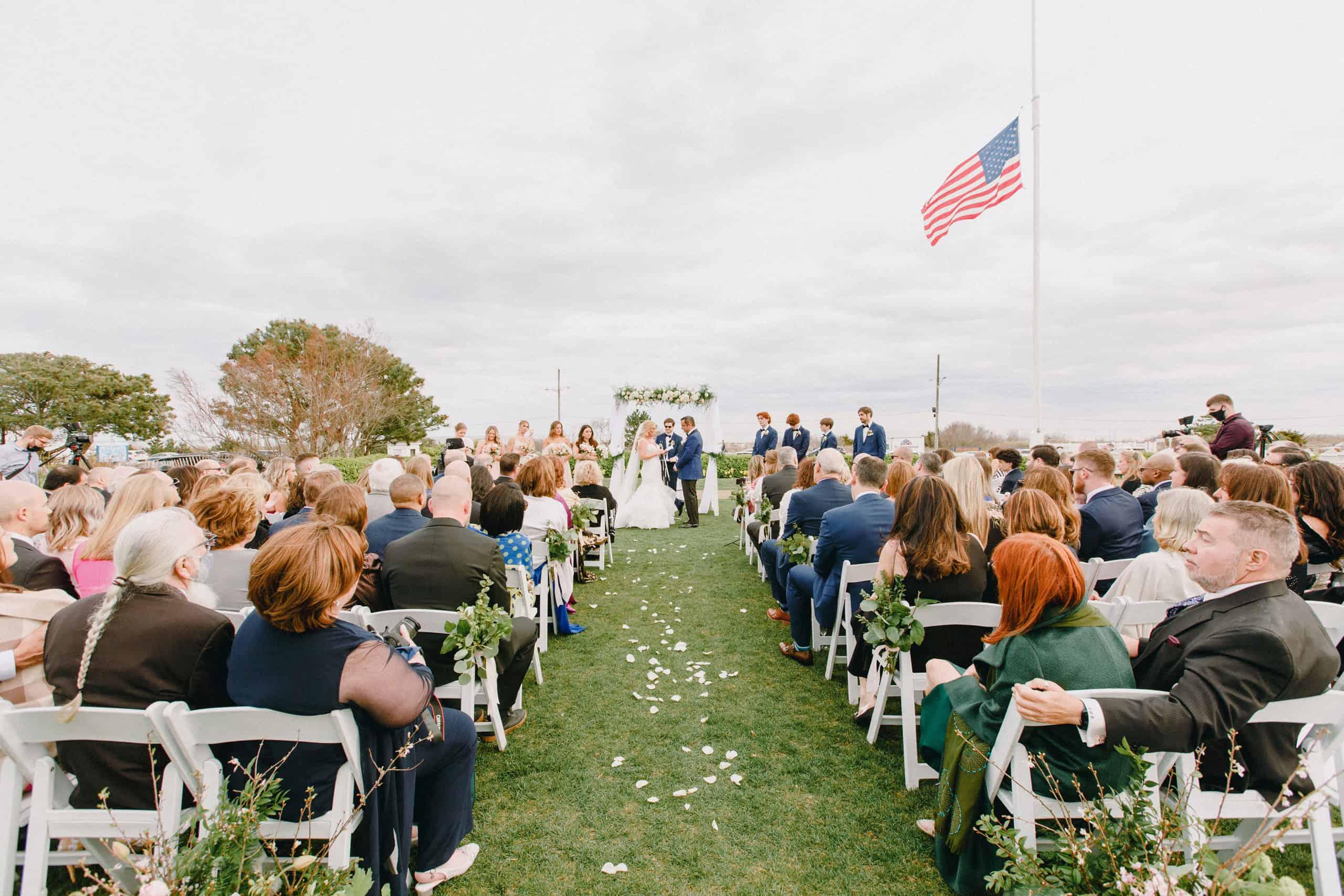 Outdoor Wedding Ceremony Congress Hall