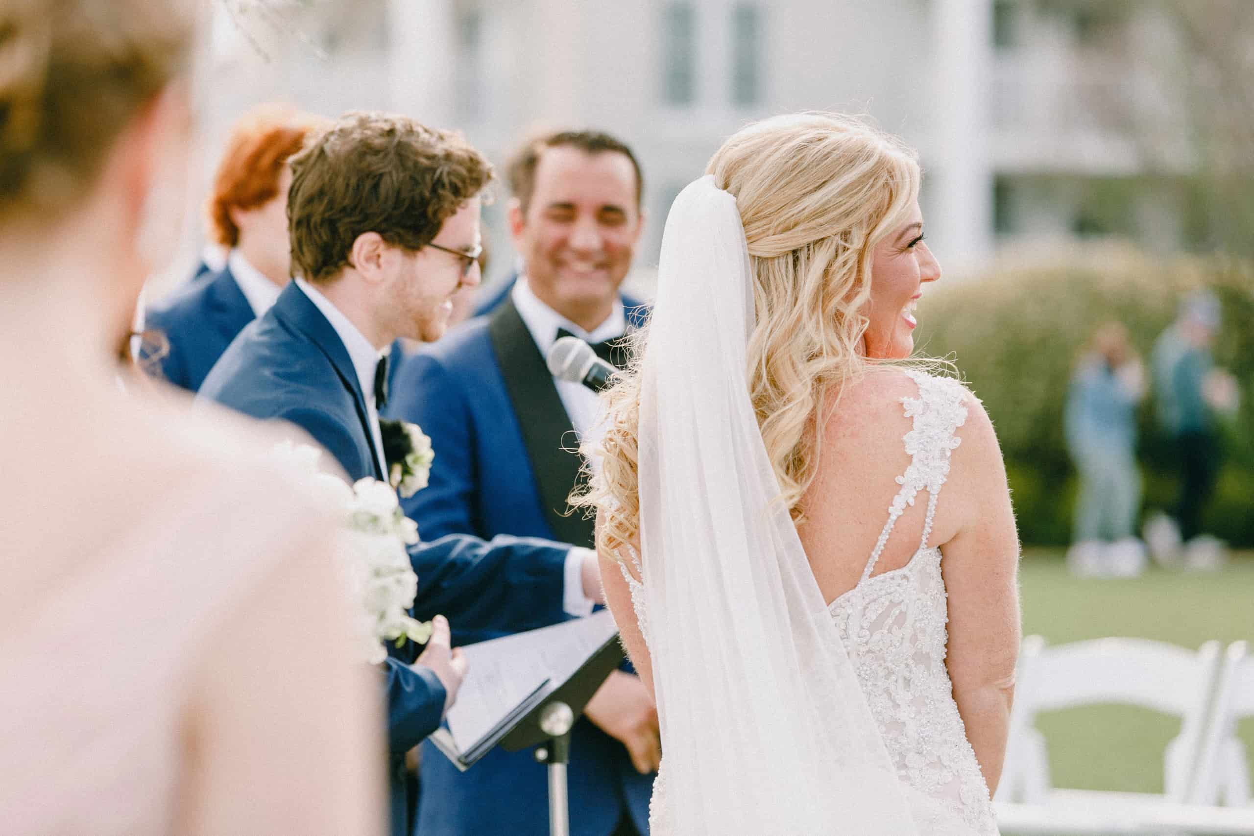 Wedding Ceremonies on the lawn at Congress Hall