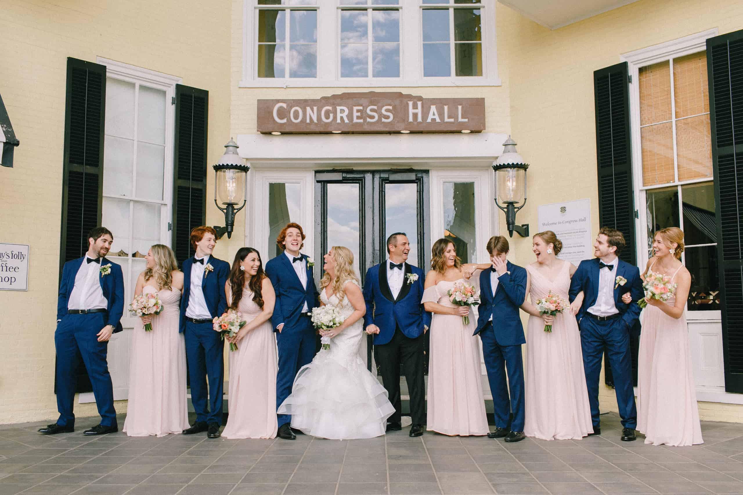 Congress Hall Wedding Party