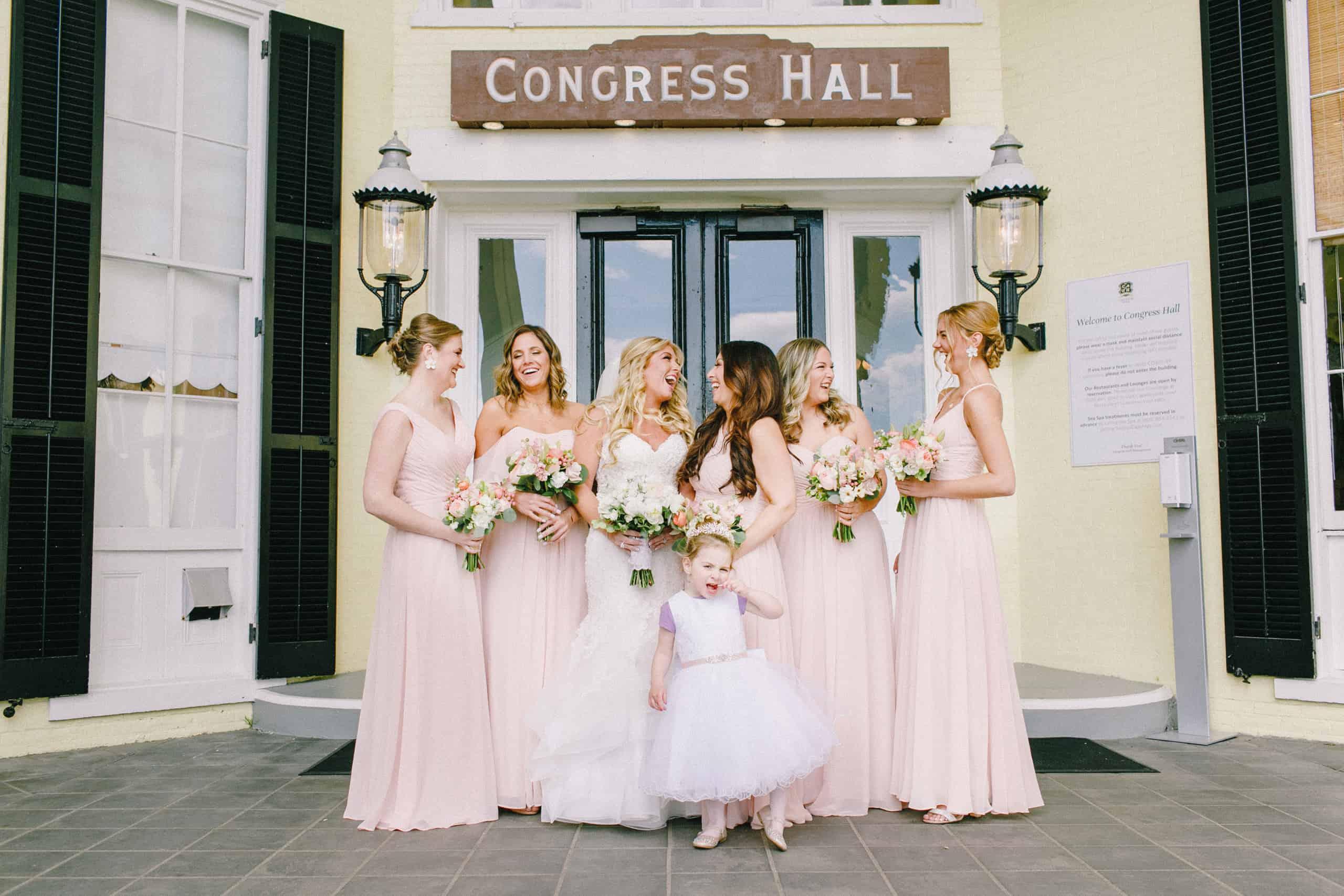 Congress Hall Bridal Party