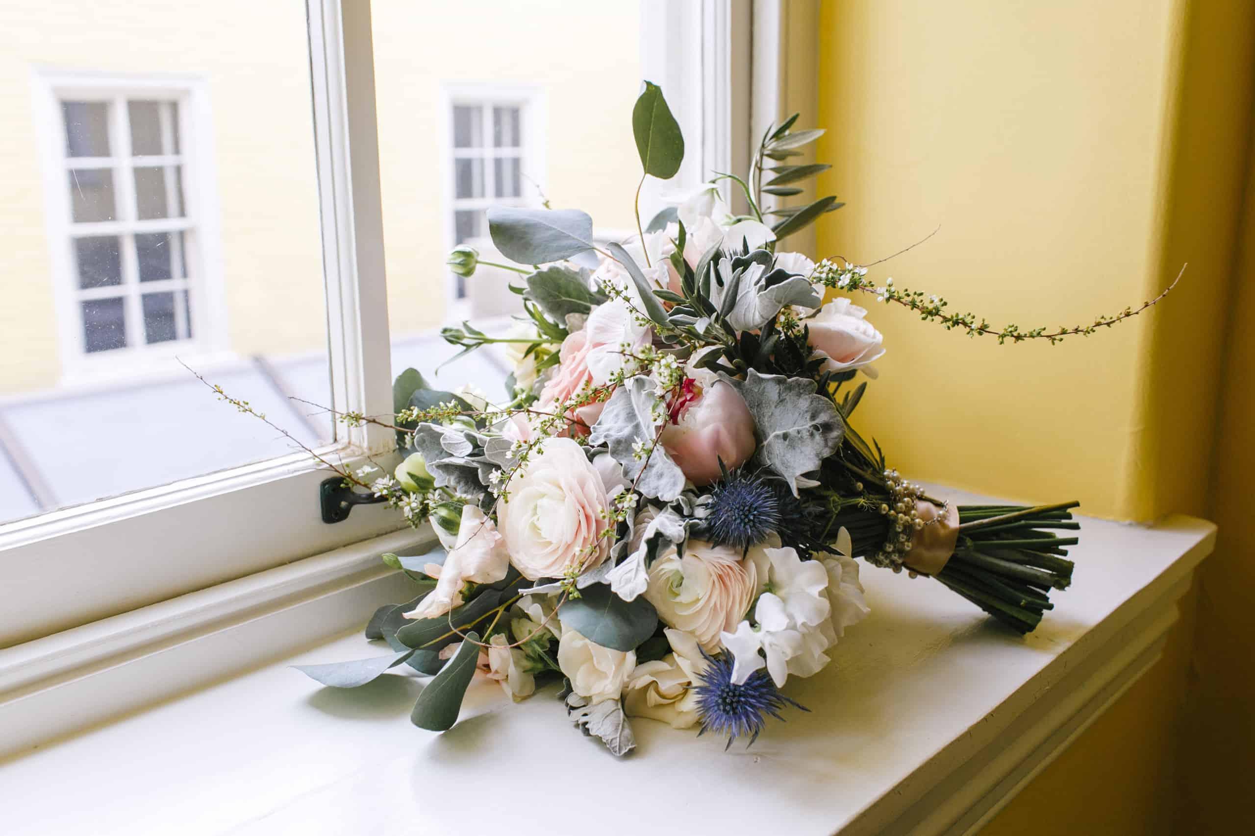 A Garden Party Wedding Florals