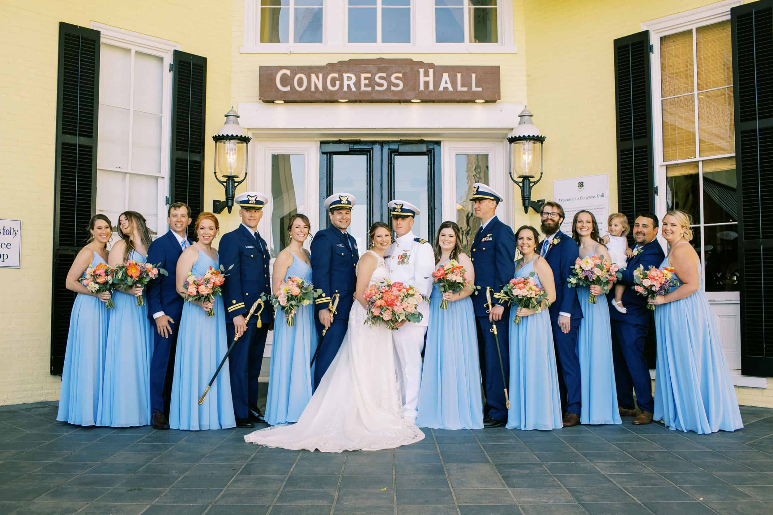 Cape May Wedding at Congress Hall