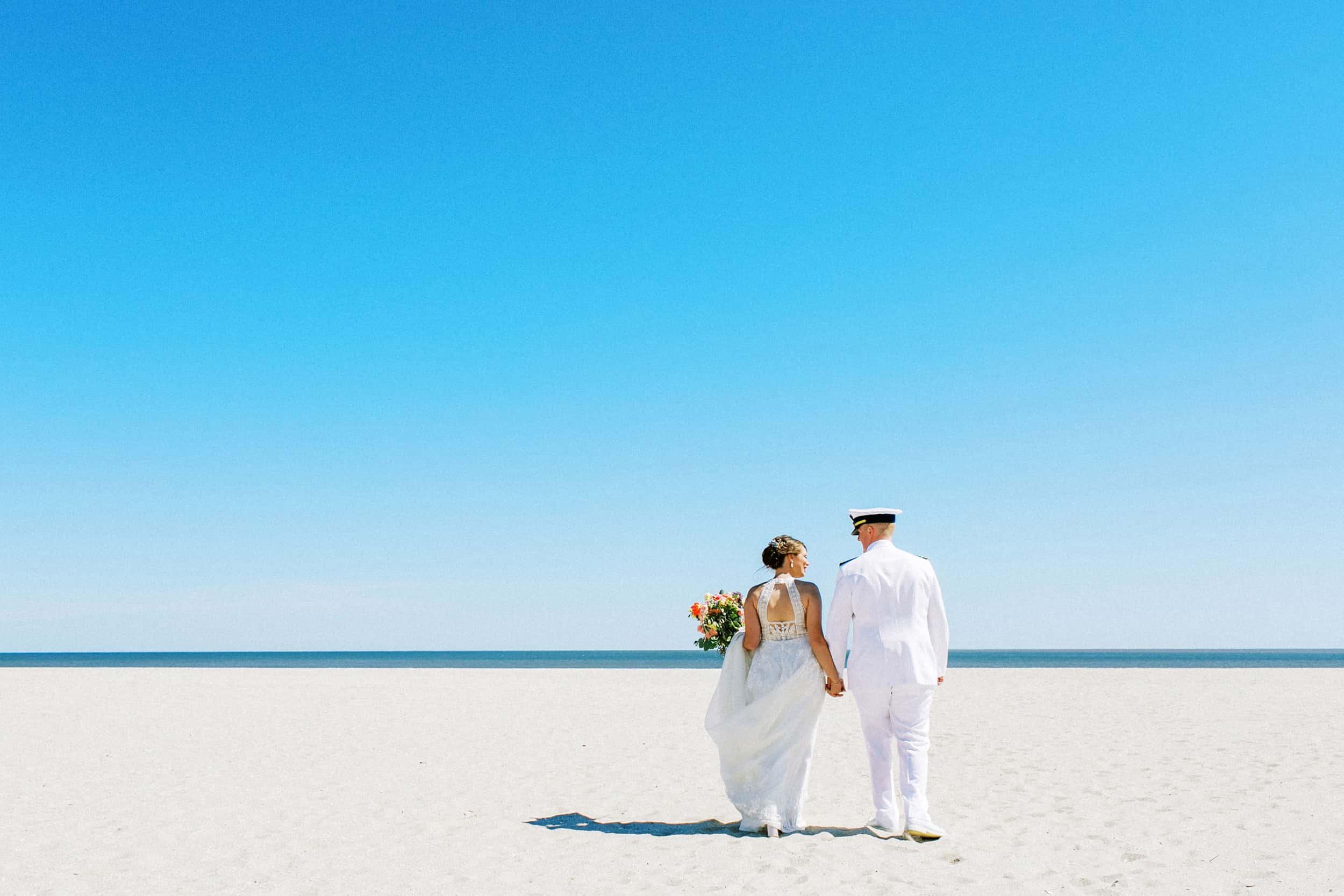 Beach Wedding in Cape May