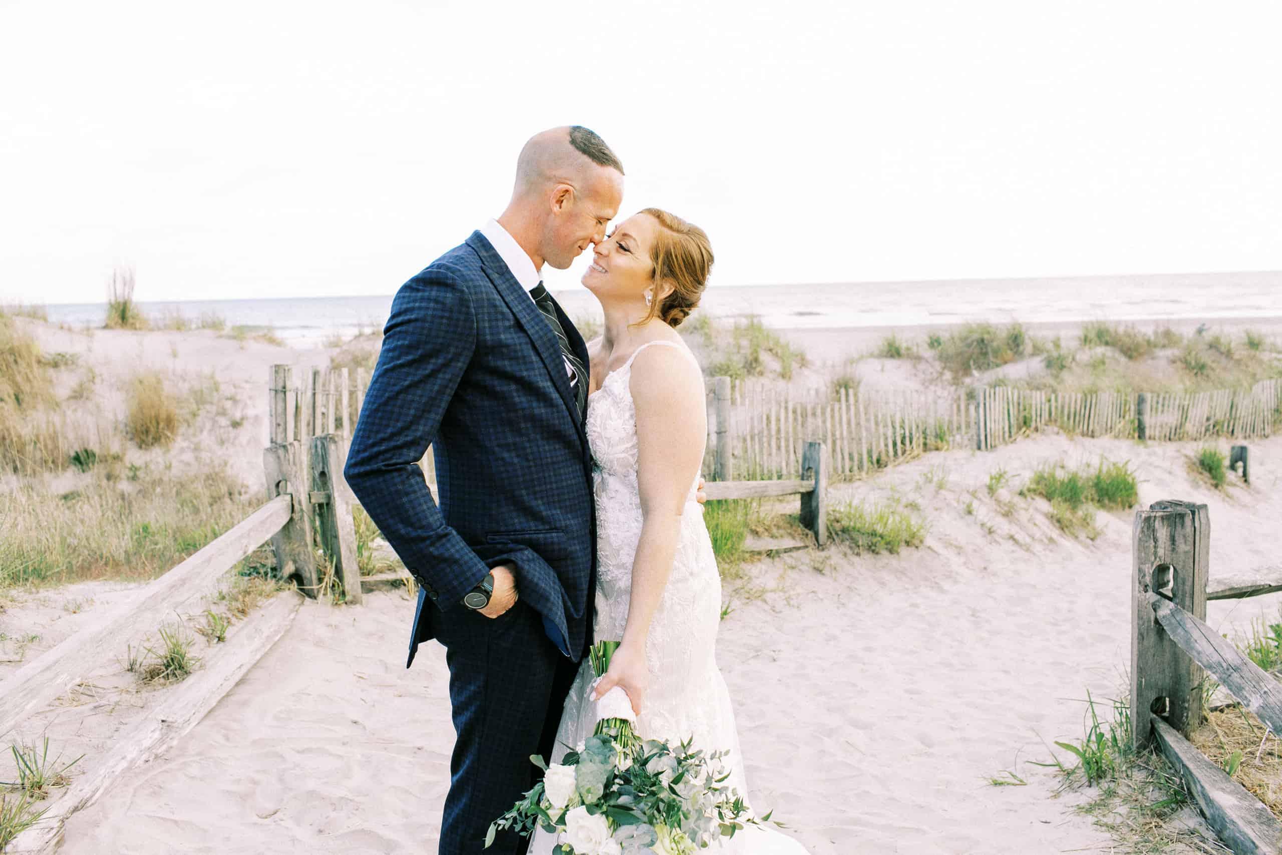 Atlantic City Beach Wedding