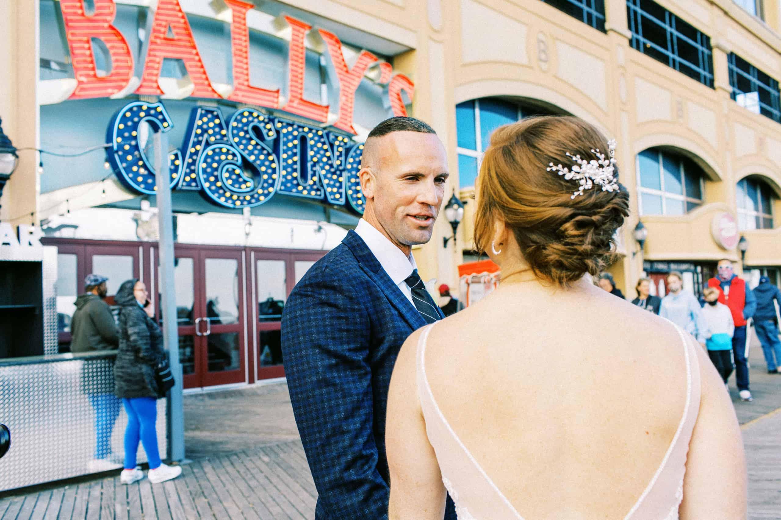 Ballys Atlantic City Wedding