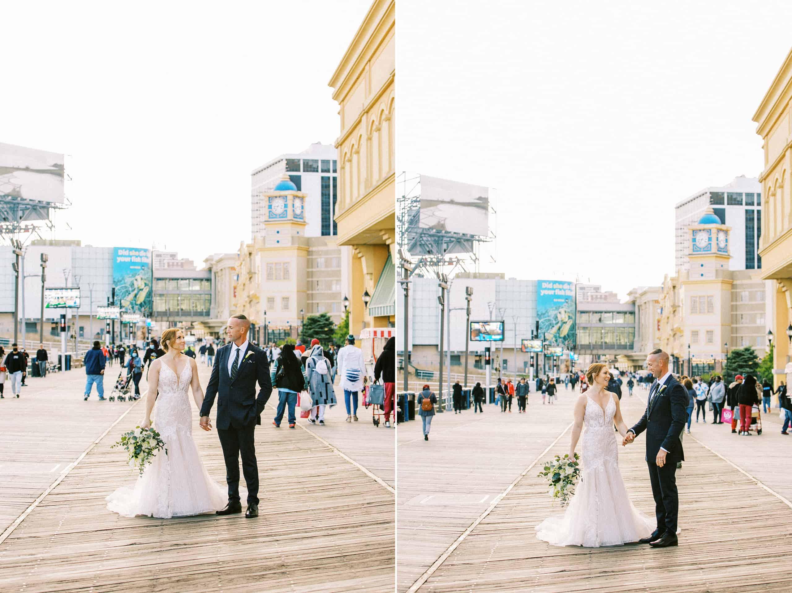 Boardwalk Atlantic City Wedding Photographer