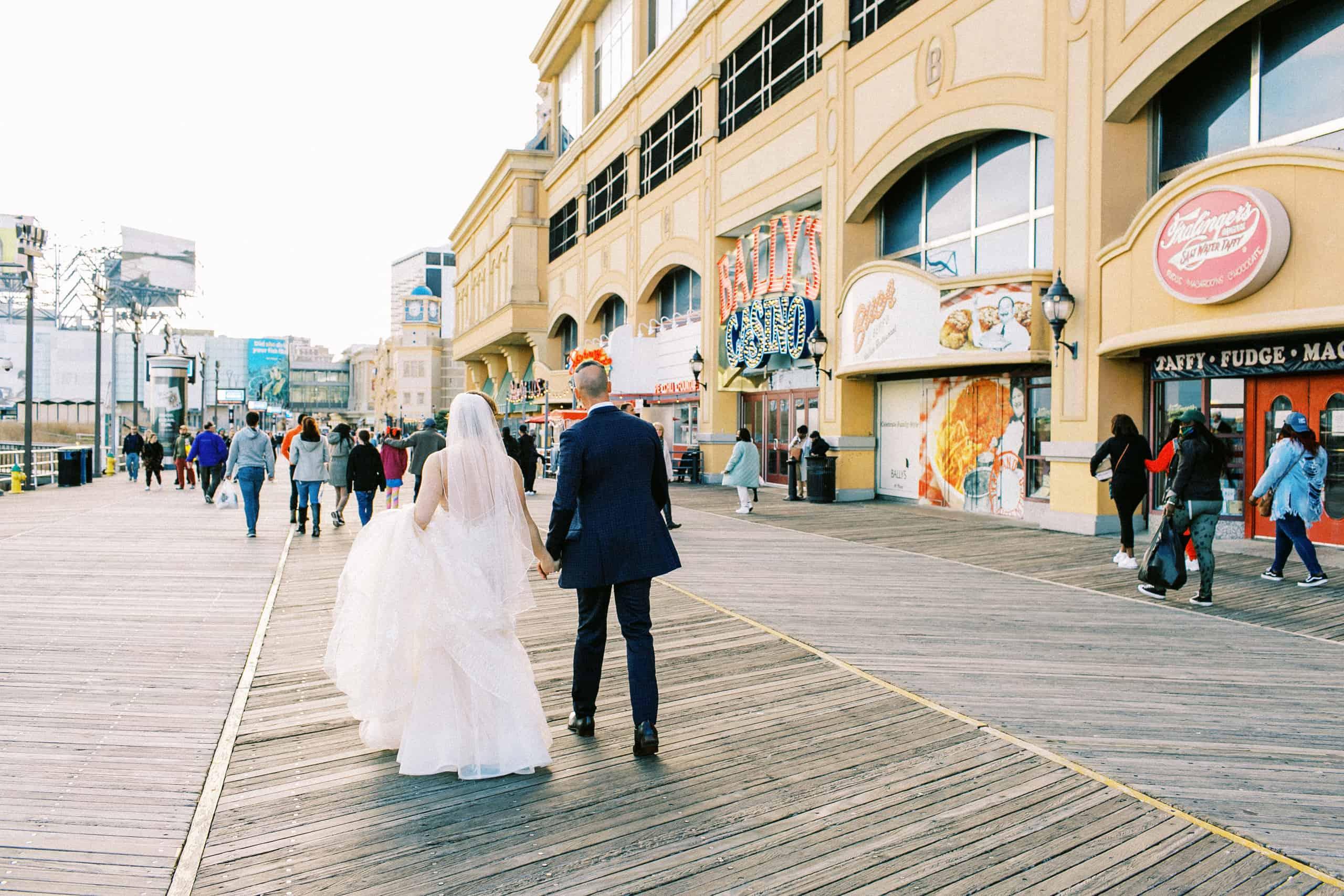 Boardwalk Atlantic City Wedding Photos