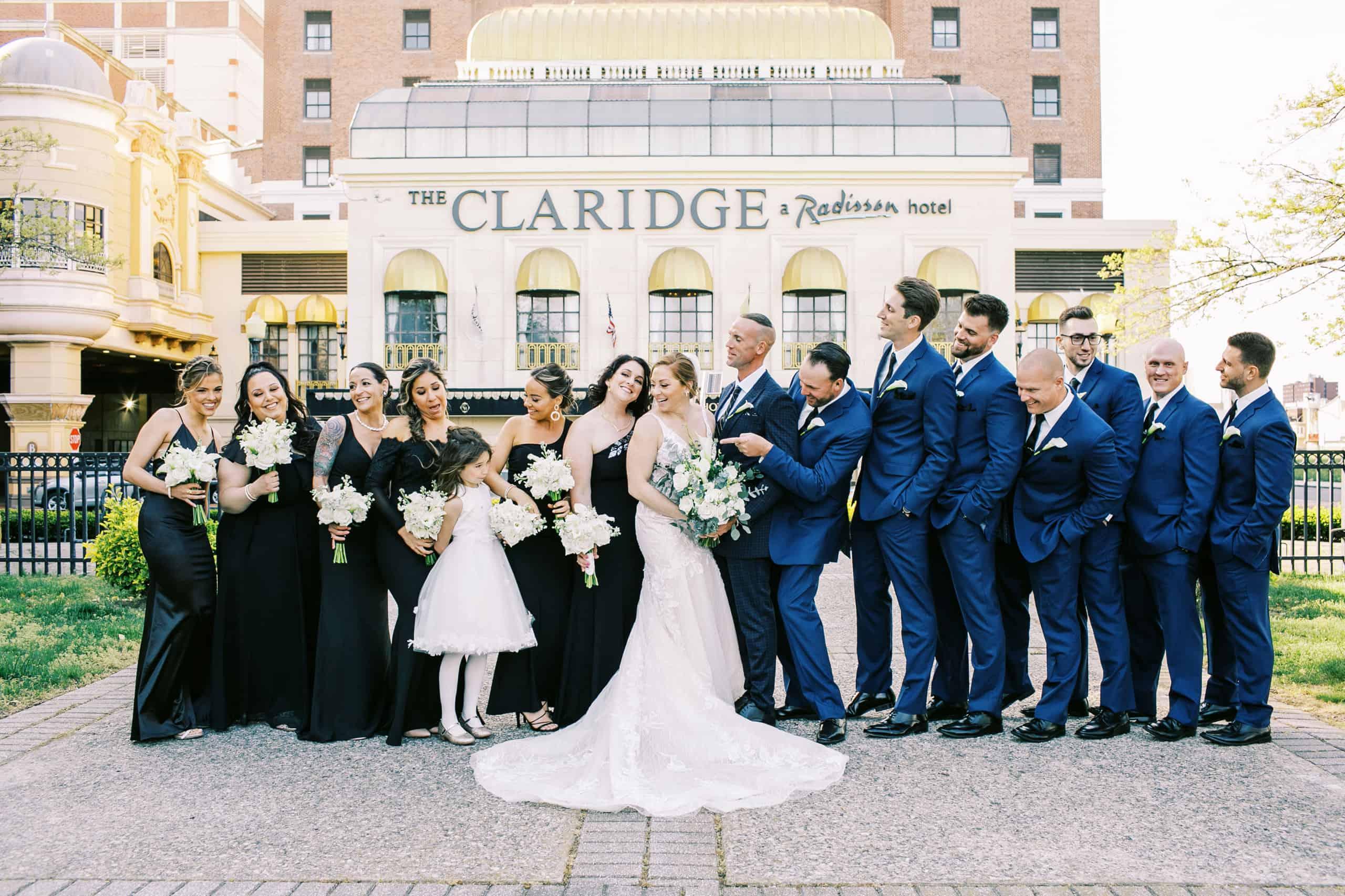 Claridge Atlantic City Wedding