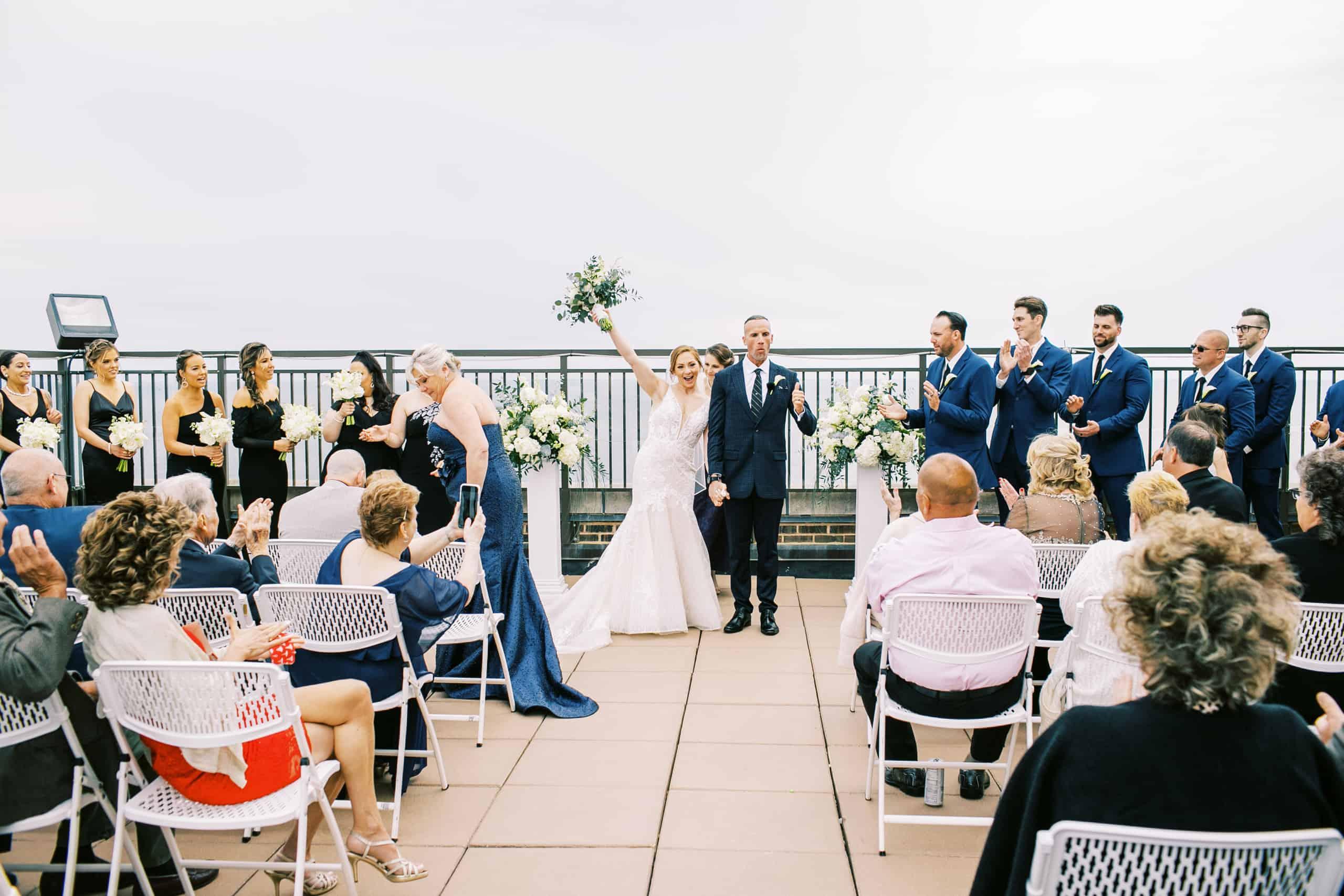 Weddings overlooking the ocean in Atlantic City
